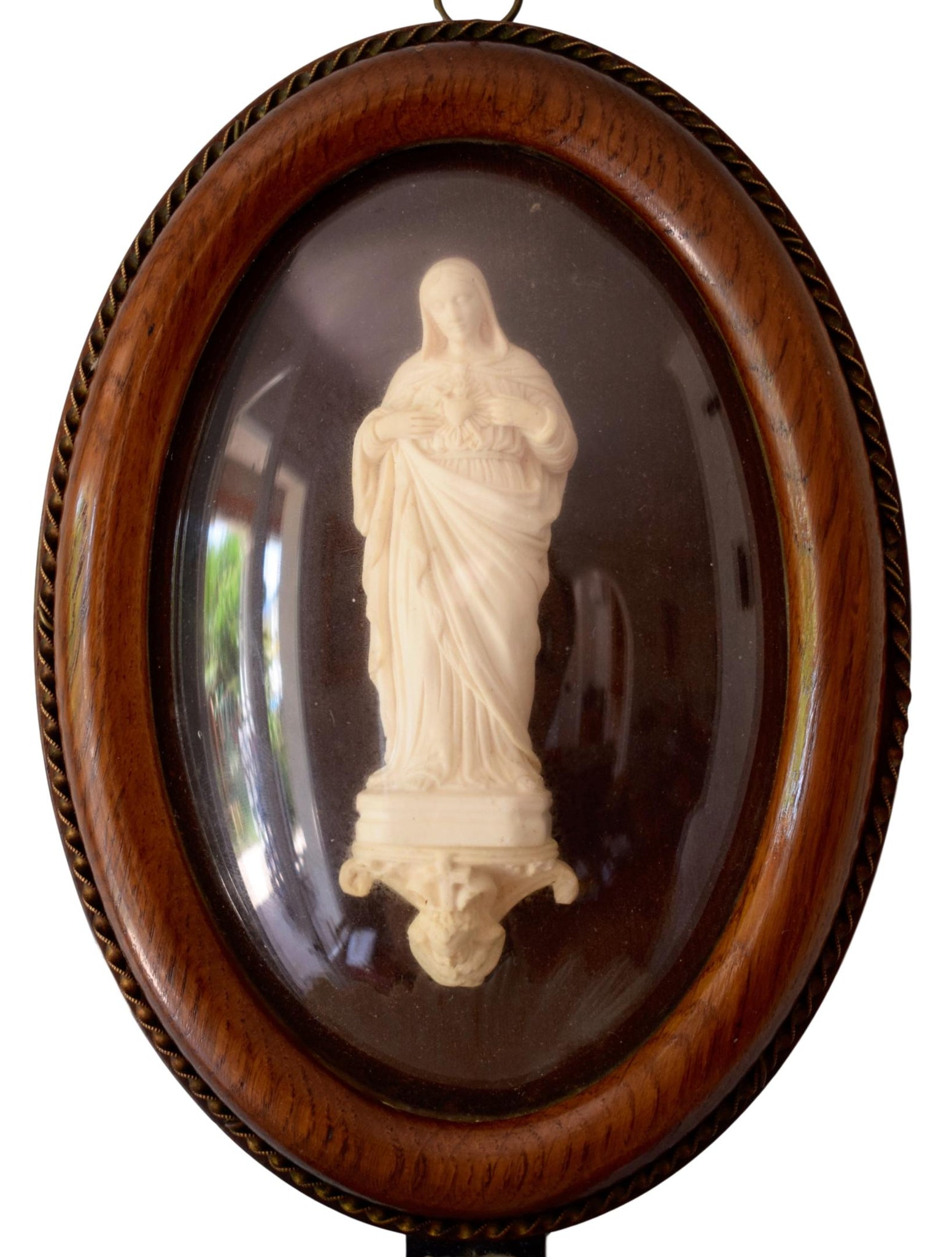 Mary Holy Water Font - Charmantiques