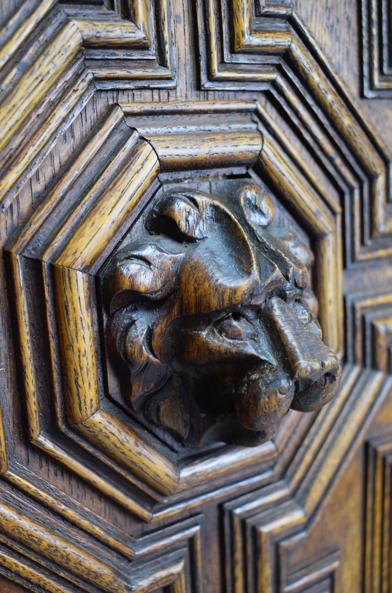 Lion Door 2 - Charmantiques