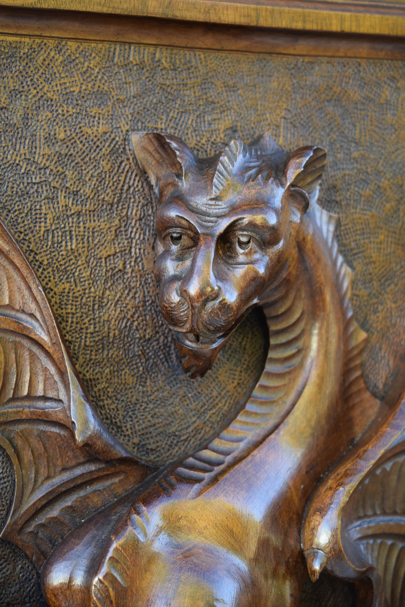 Neo-Gothic Griffin Door - Charmantiques