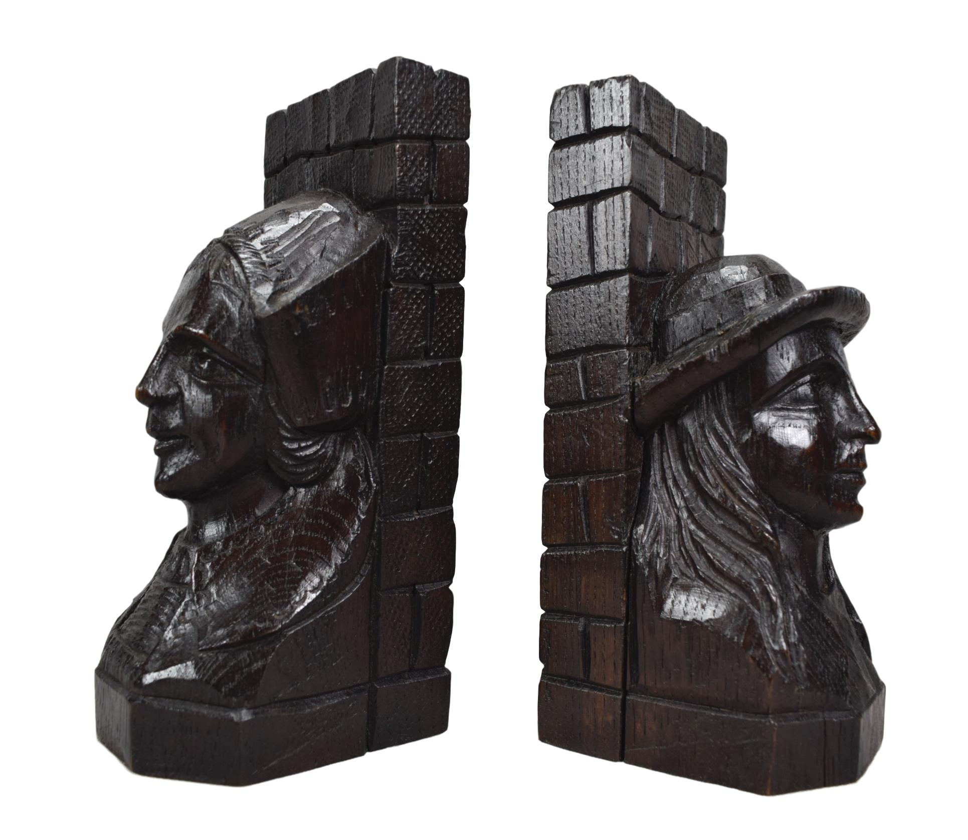 Breton Bookends - Charmantiques
