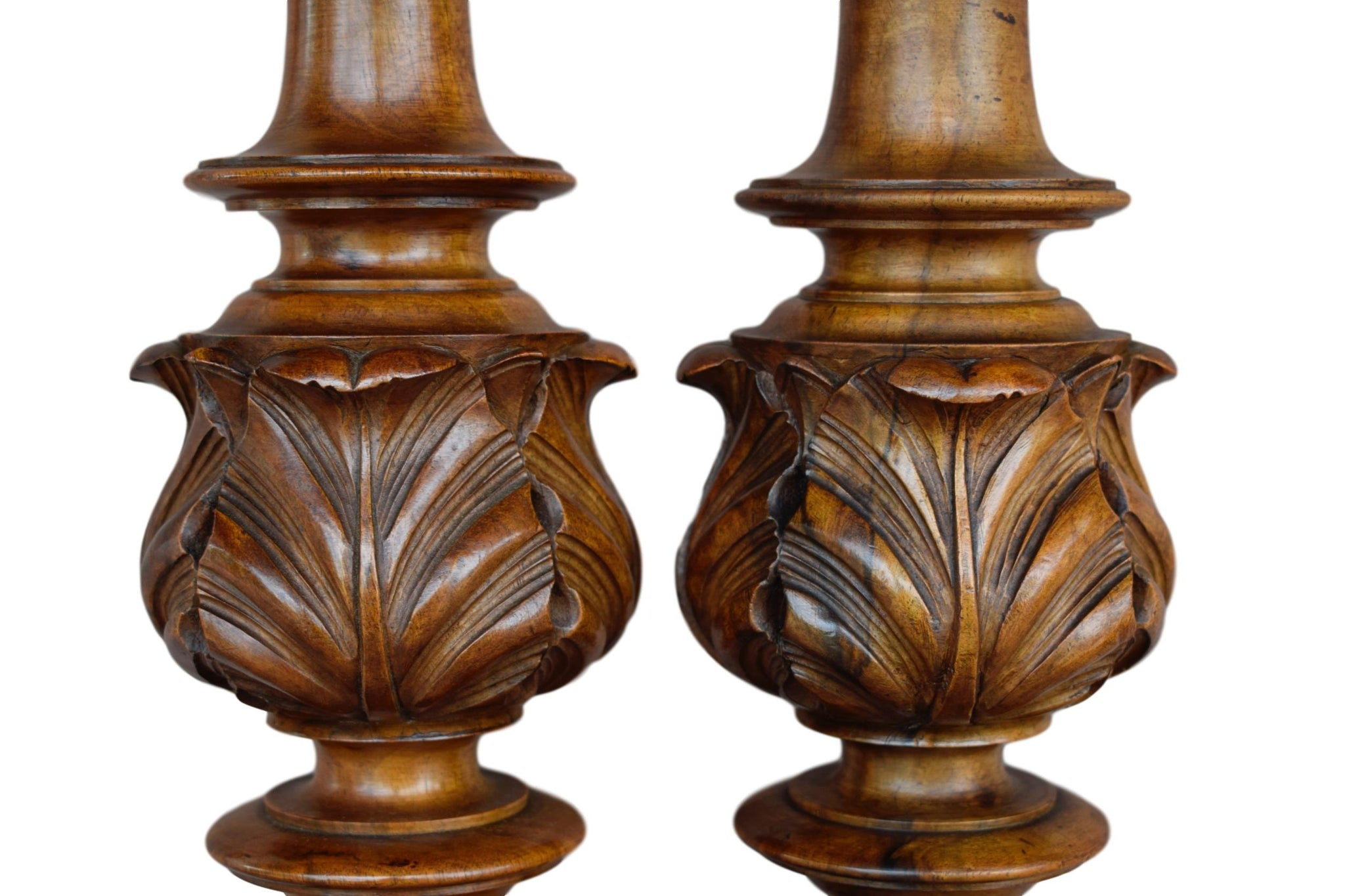 Pair of Balusters - Charmantiques