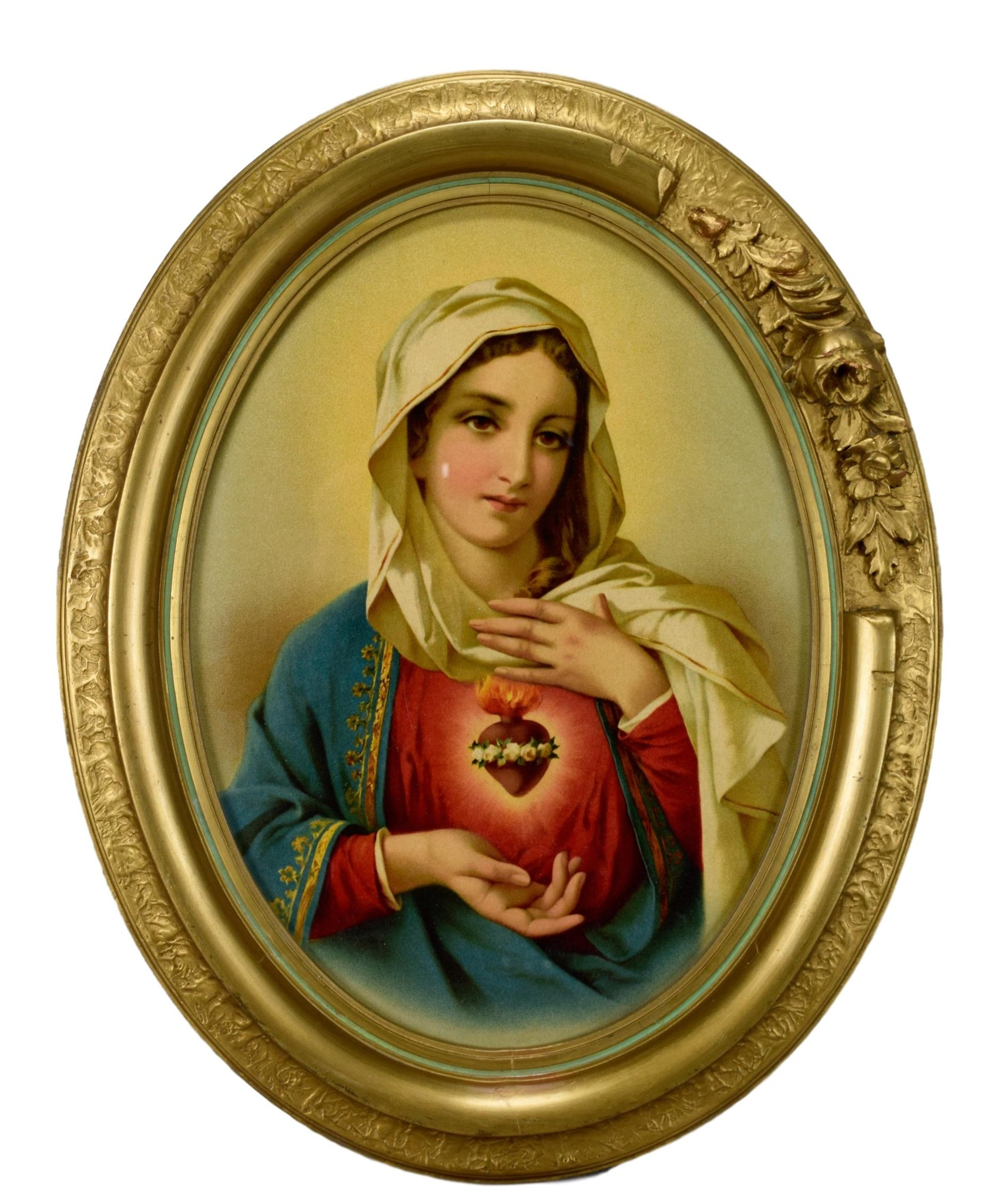 The Sacred Heart of Mary Frame - Charmantiques