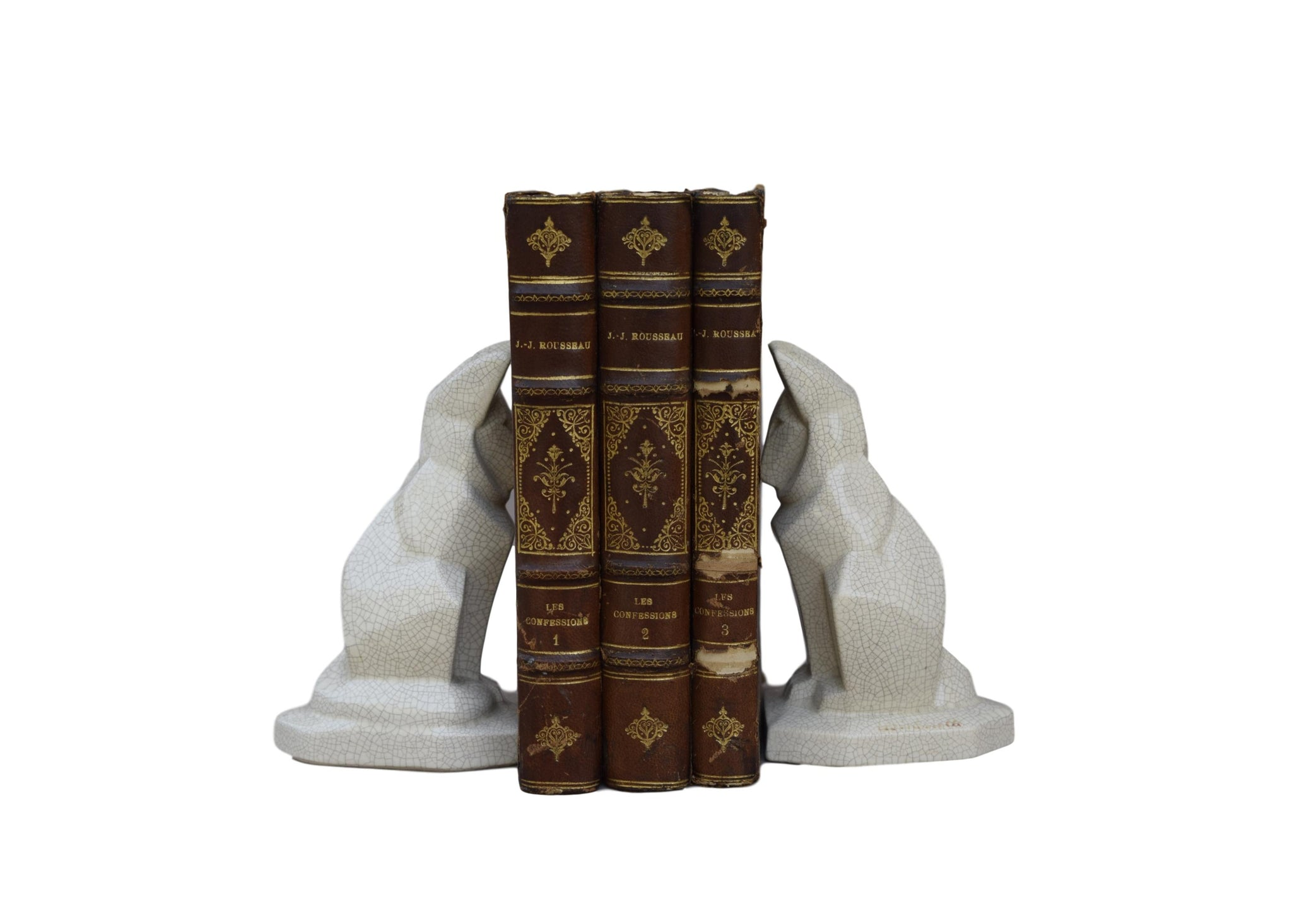 Fontinelle Fox Bookends - Charmantiques