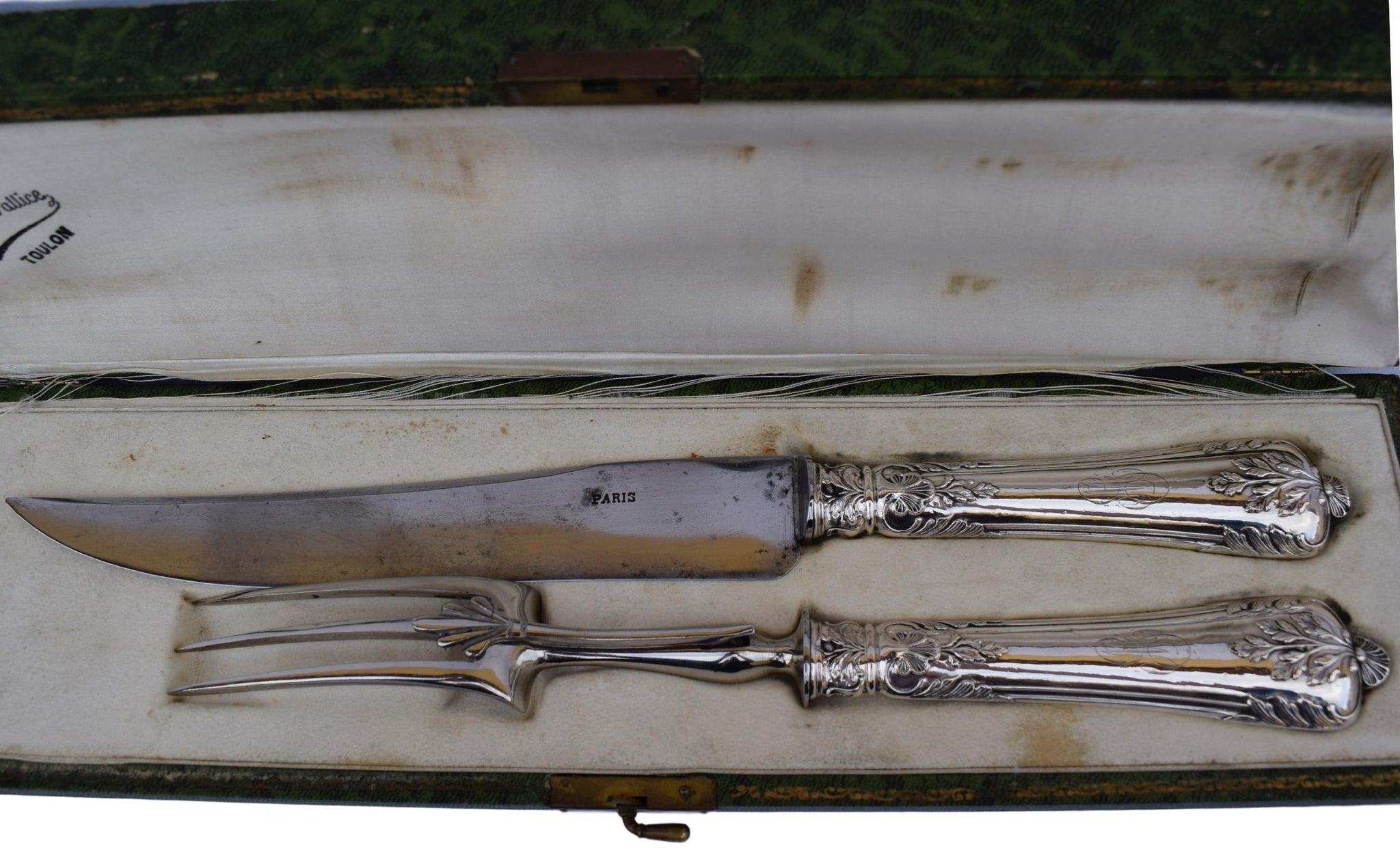 Sterling Carving Set - Charmantiques