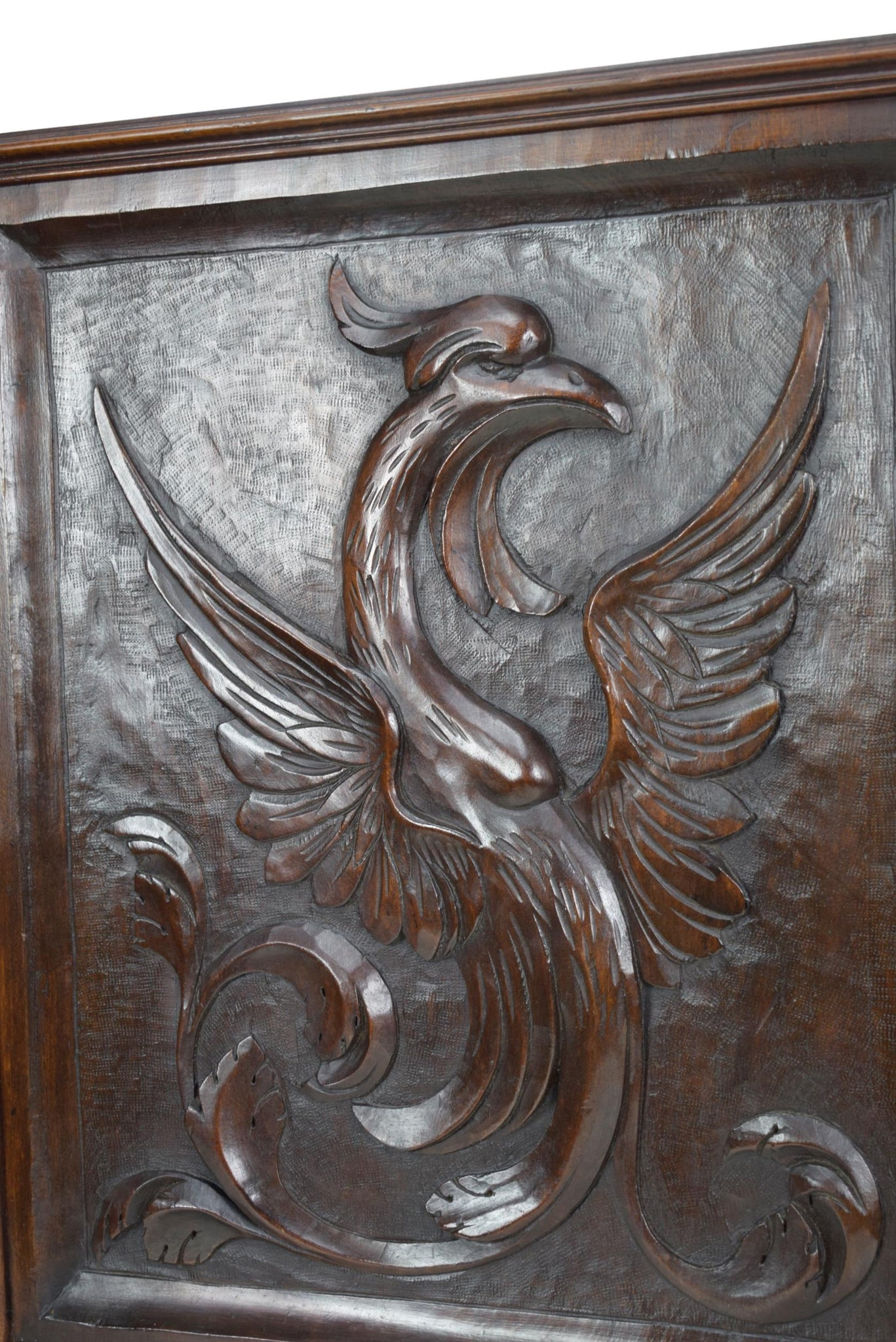 Phoenix Wood Panel - Charmantiques
