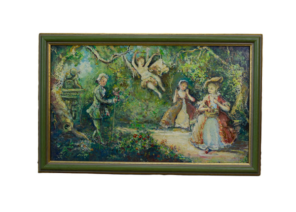 Romantic Painting - Charmantiques