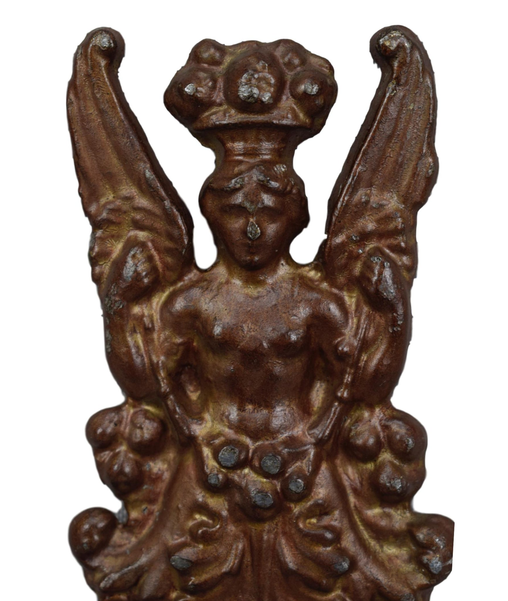 Lead Winged Woman - Charmantiques