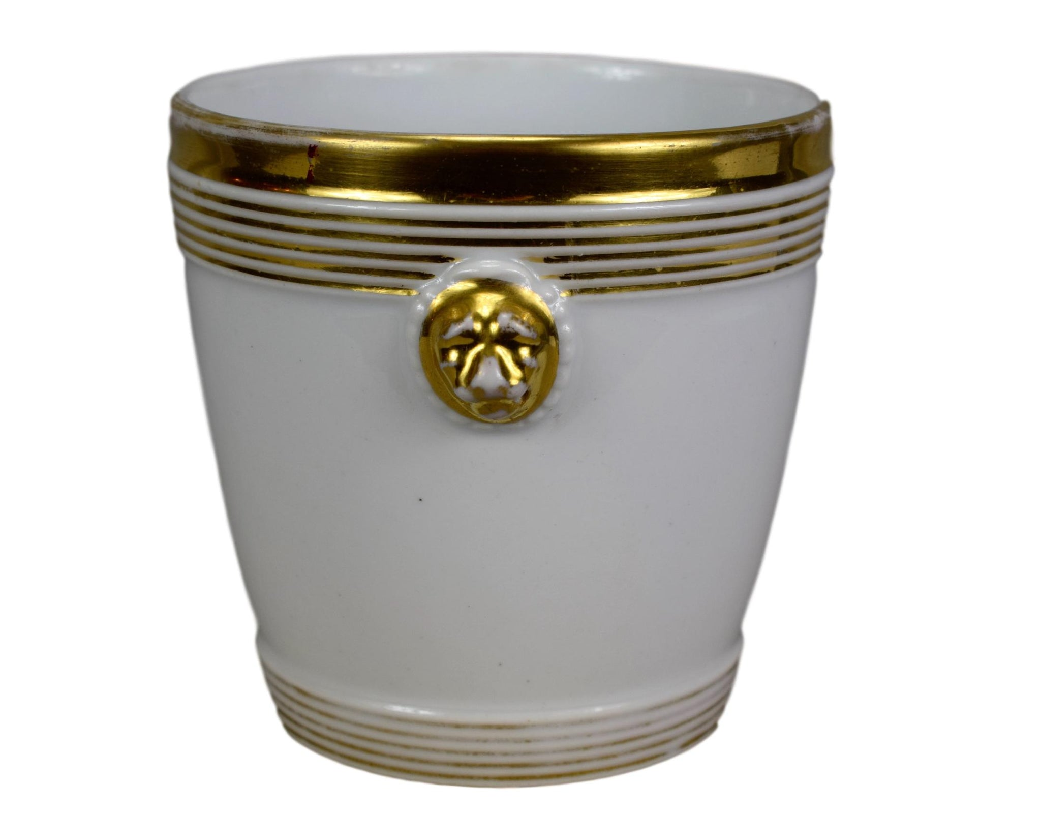 Paris Porcelain Cache Pot - Charmantiques