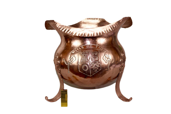 Copper Cache Pot - Charmantiques