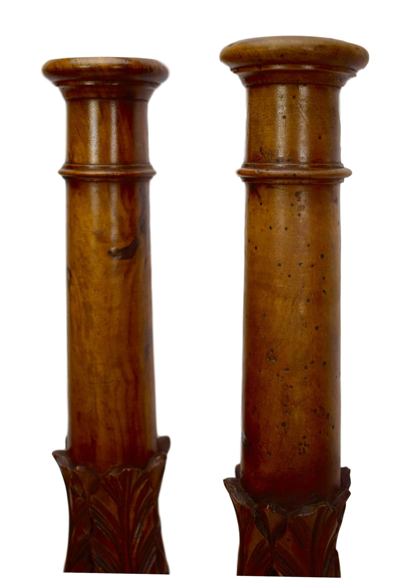 Salvaged Wood Columns - Charmantiques