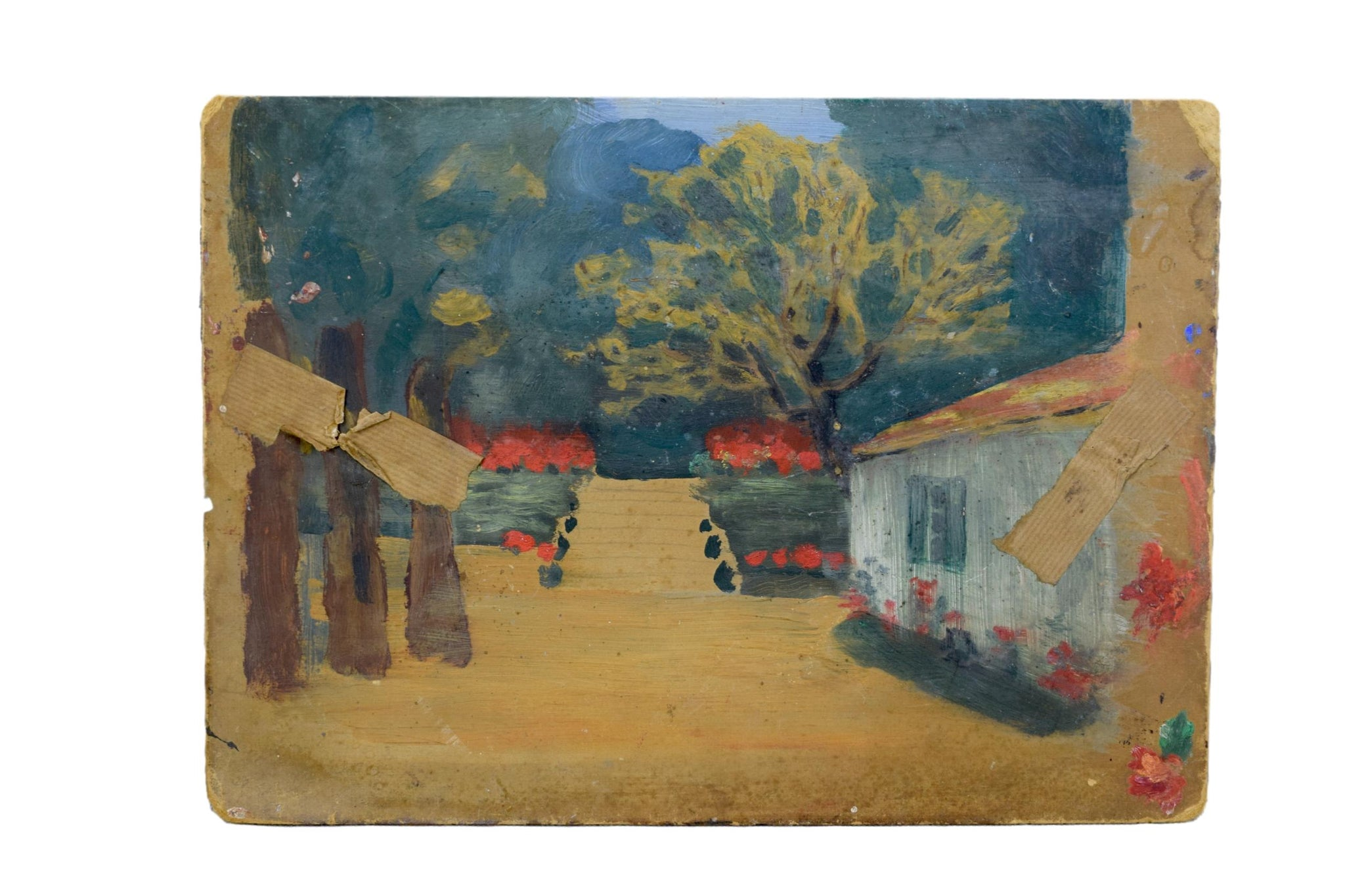 French Park Painting - Charmantiques