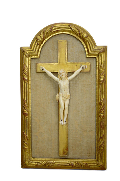 Religious Gilded Wood Frame - Charmantiques