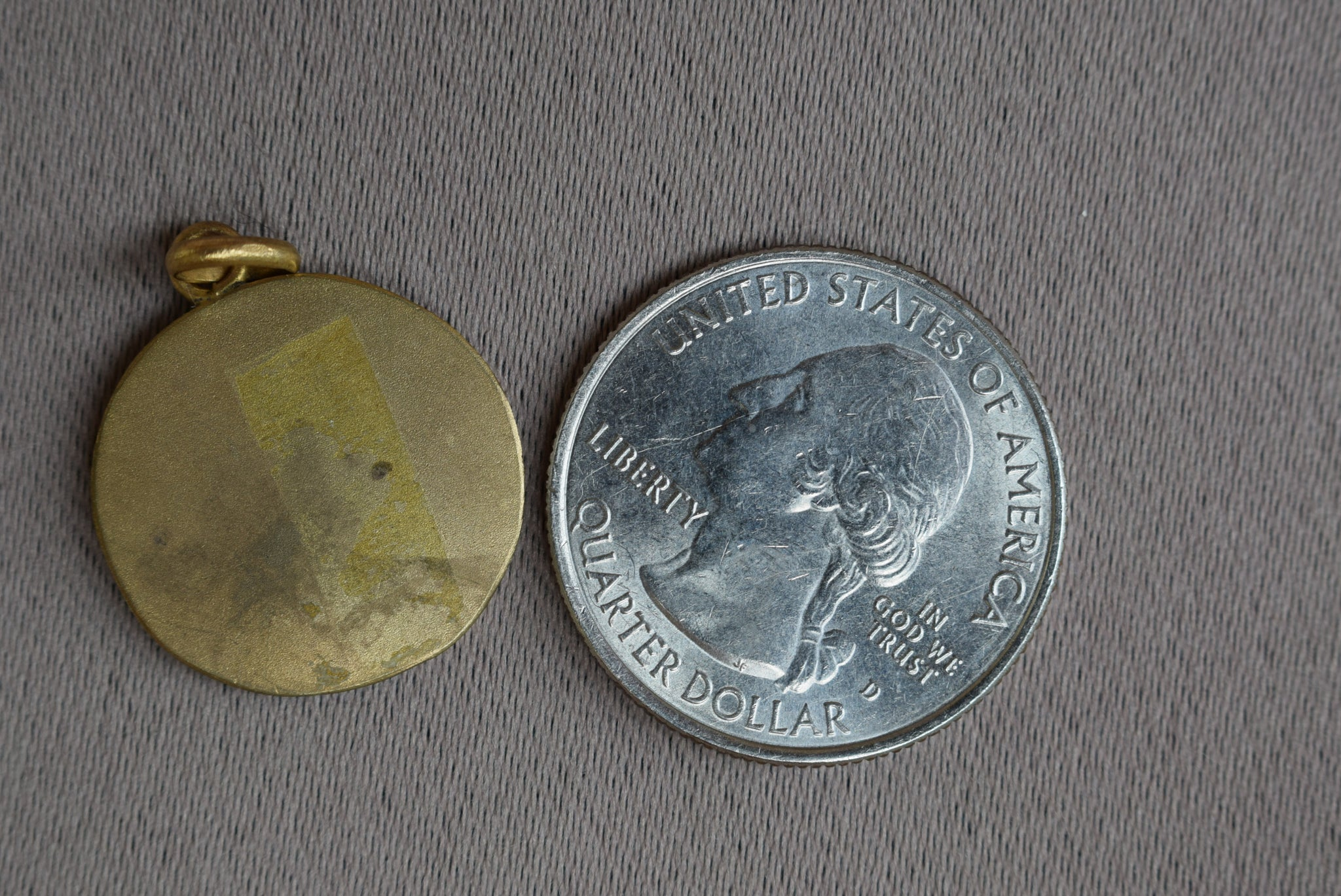 St Veronica Medal by Ph Roch - Charmantiques