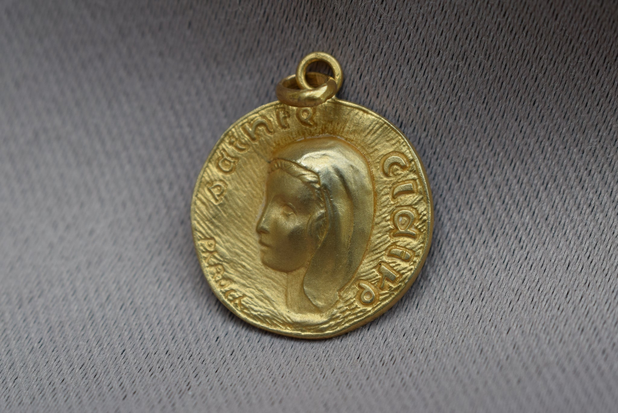 St Clare Medal by Ph Roch - Charmantiques