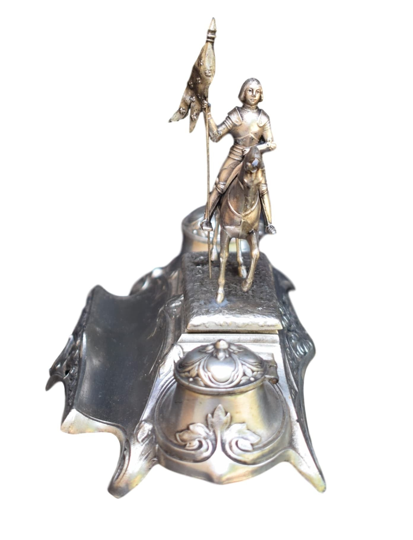 St Joan of Arc Inkwell - Charmantiques
