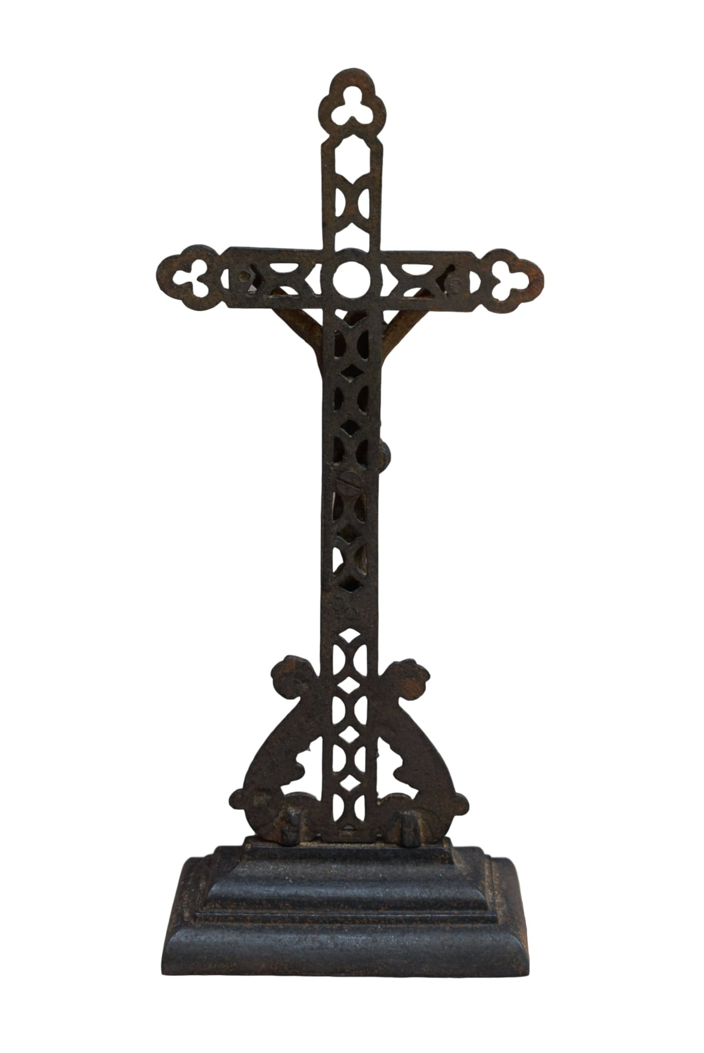 Cast Iron Crucifix - Charmantiques