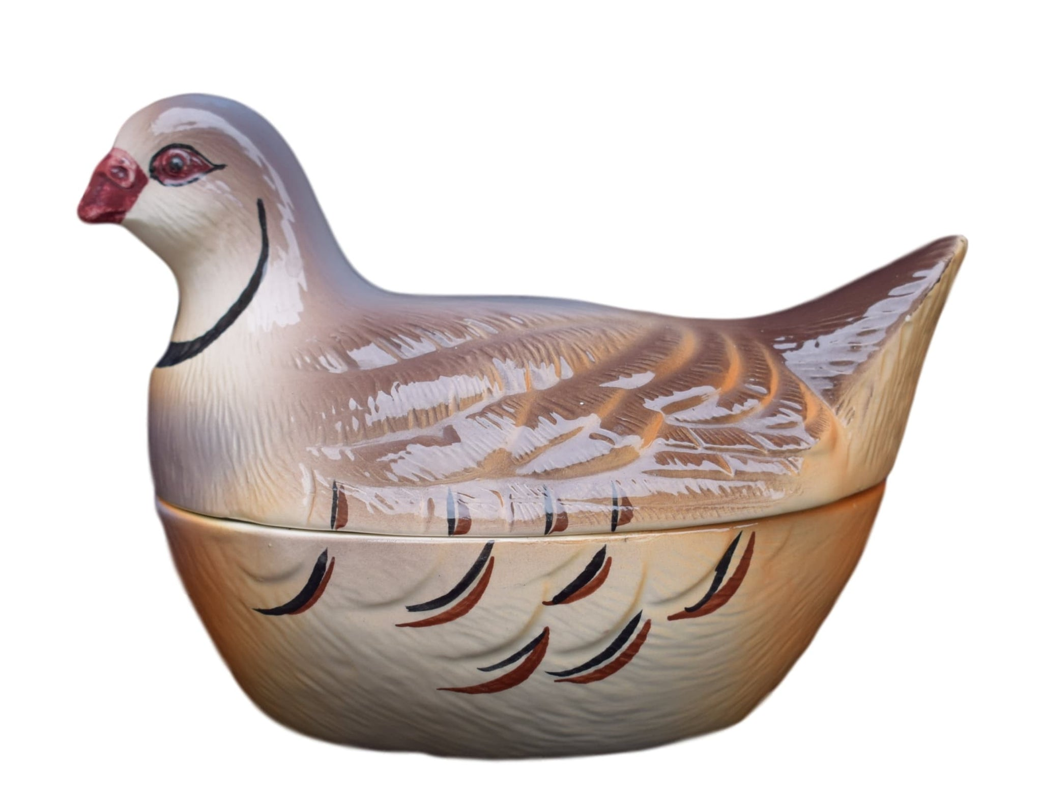Caugant Turtledove Tureen - Charmantiques
