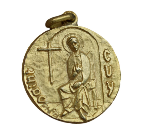 Saint Guy Medal by Roch - Charmantiques