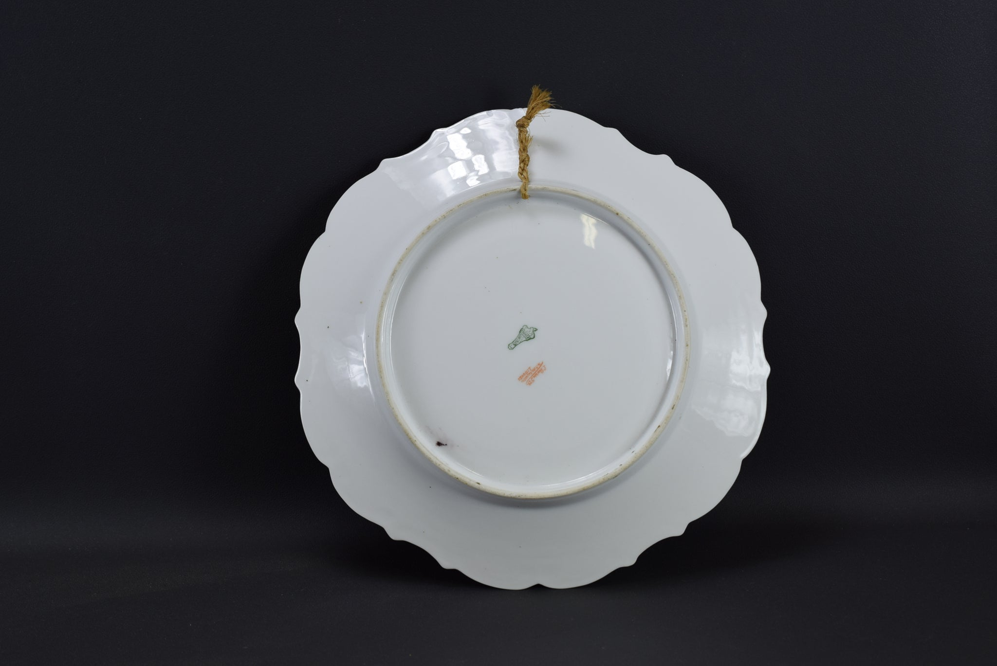 Romantic Limoges Wall Plate