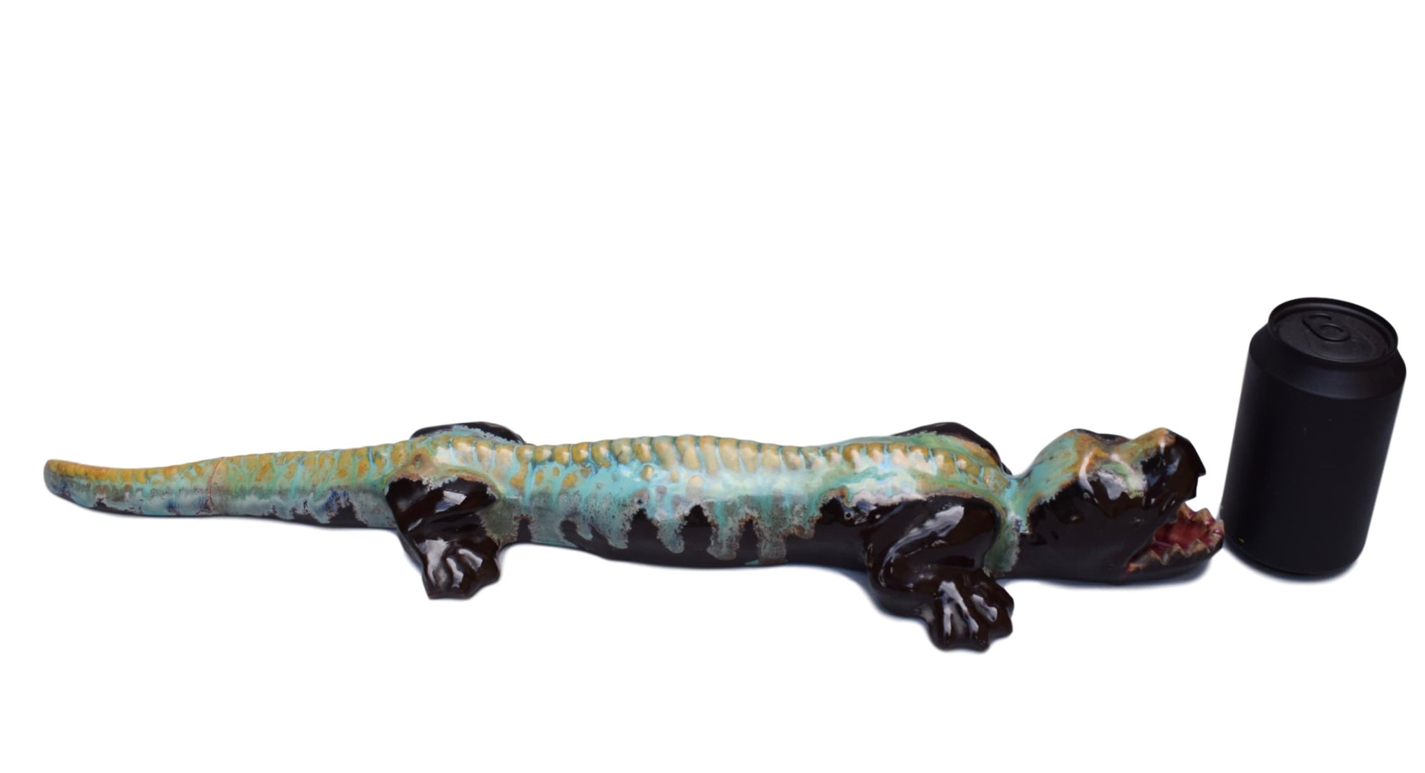 Pierrefonds Stoneware Crocodile - Charmantiques