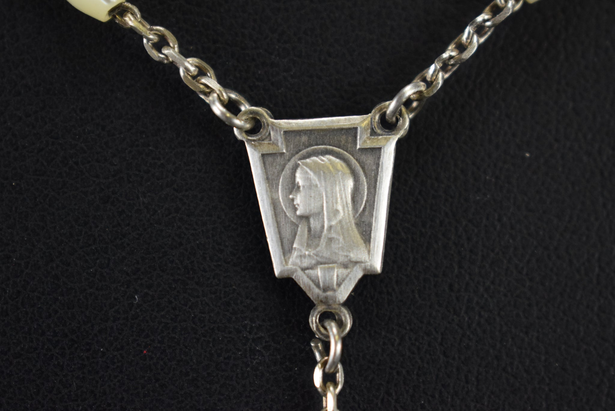 Mop & Silver Rosary