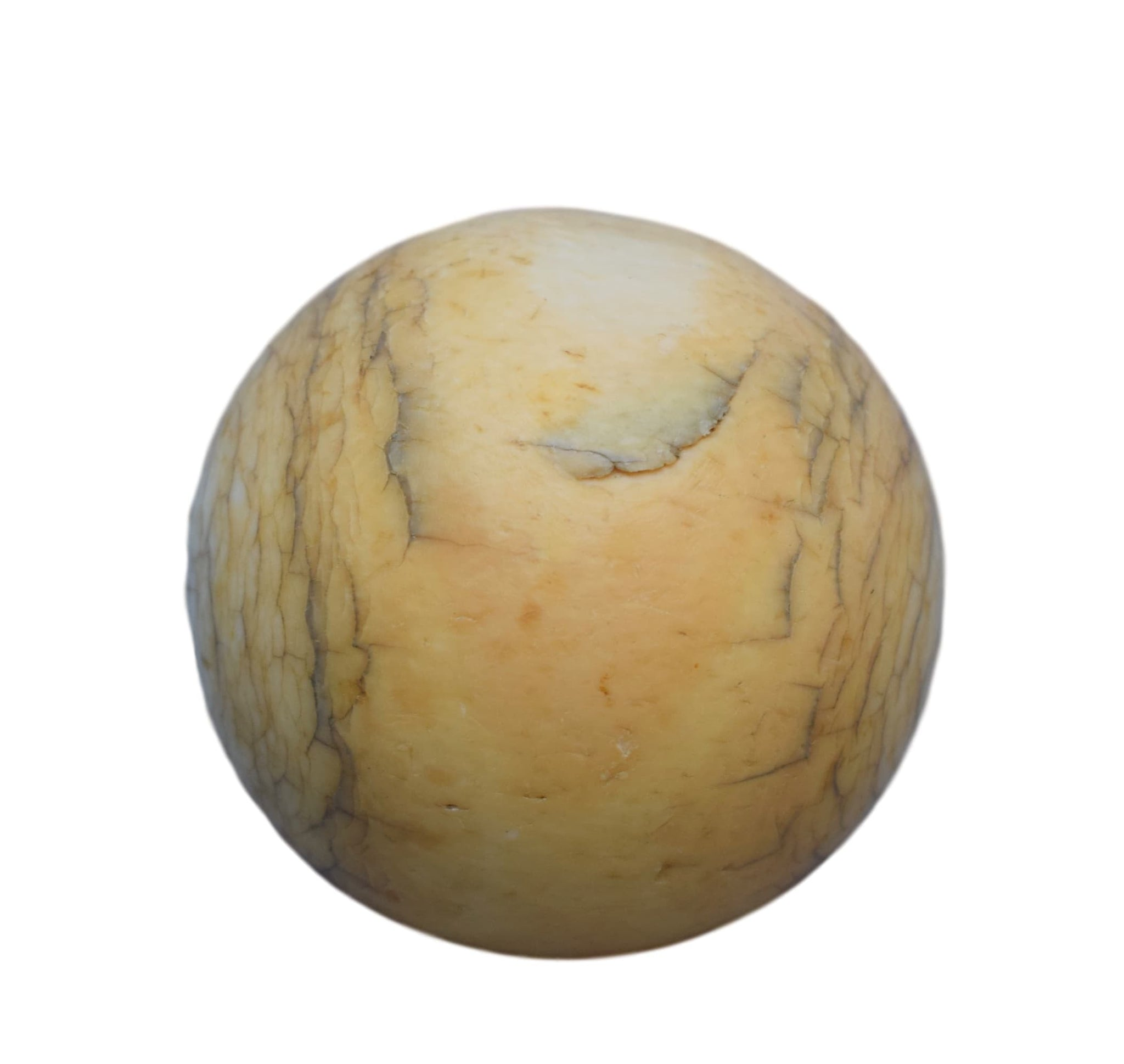 French antique ivory pool ball