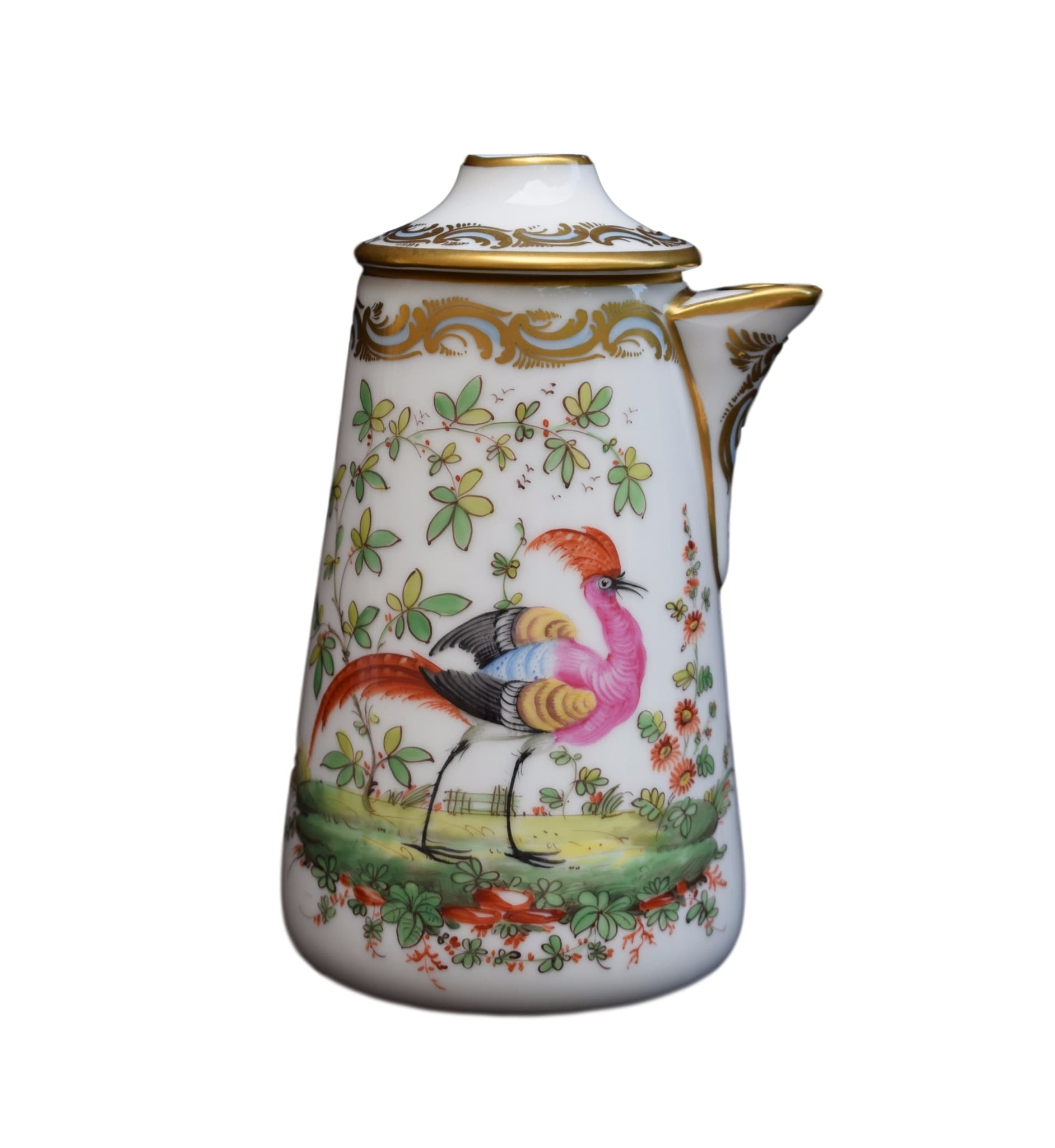 Chelsea Bird Chocolate Pot - Charmantiques