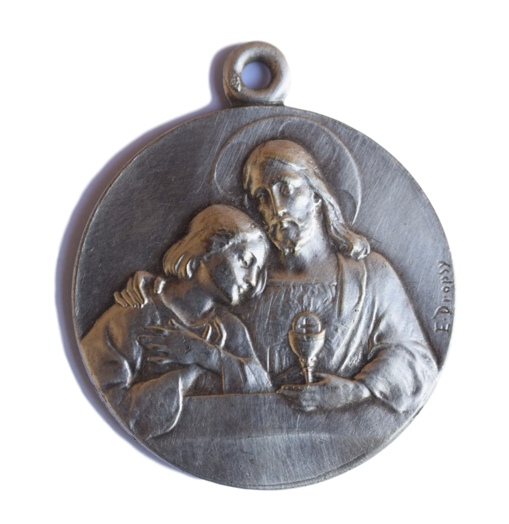 The Eucharist Medal by E.Dropsy - Charmantiques