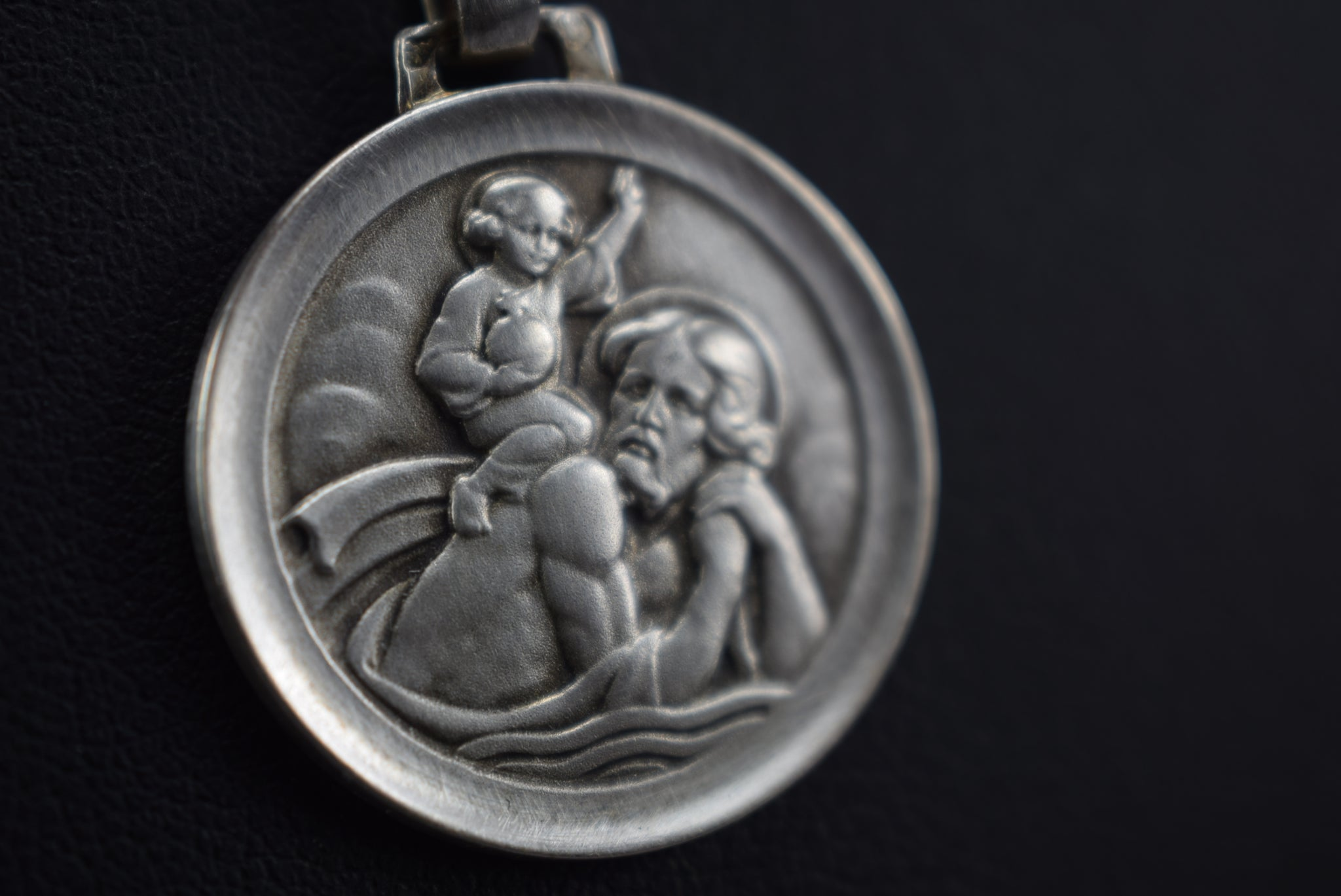 St Christopher Necklace - Charmantiques