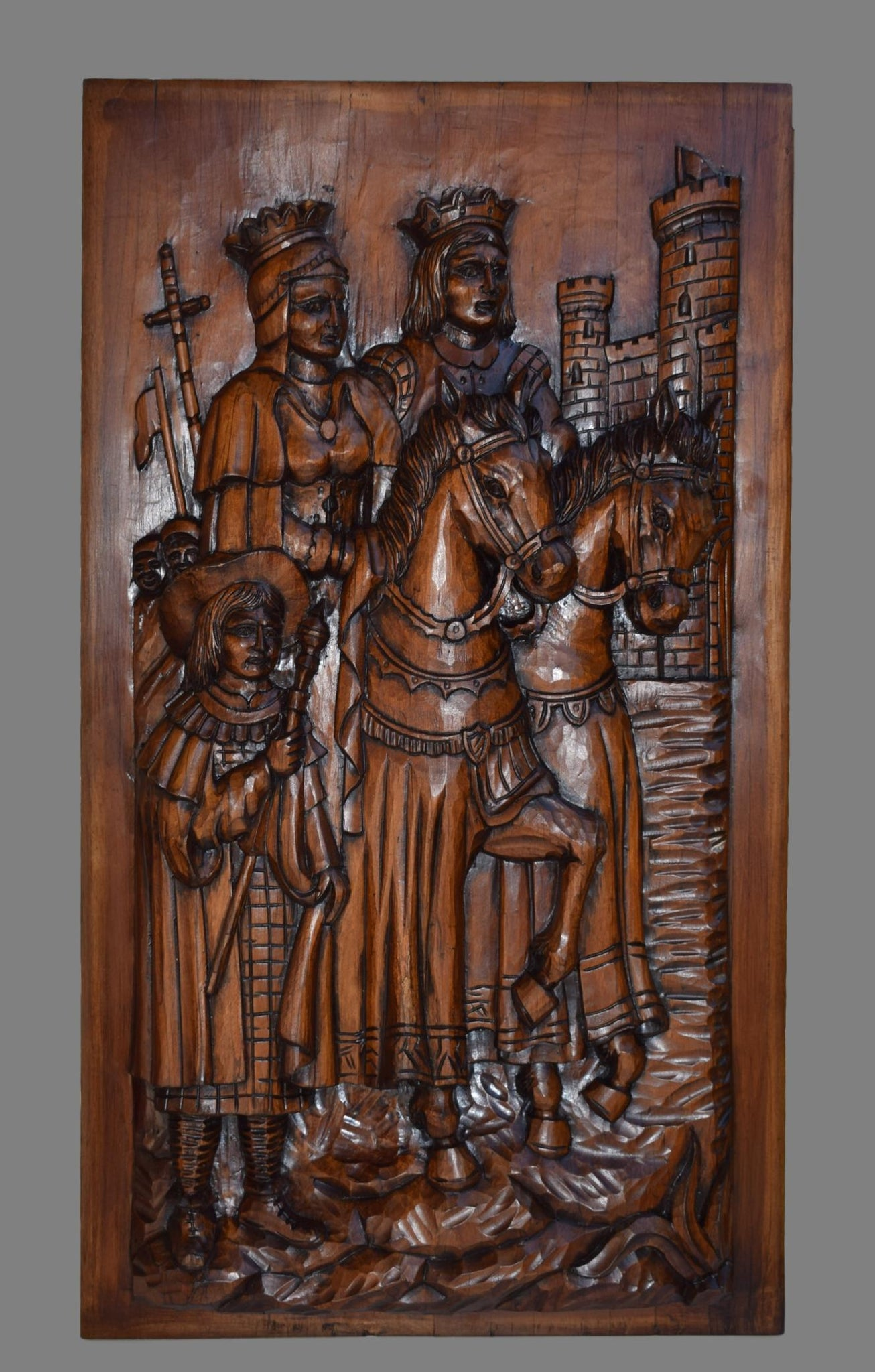 Queen and King Panel - Charmantiques