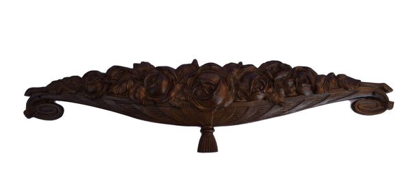 Art Deco Bronze Pediment - Charmantiques