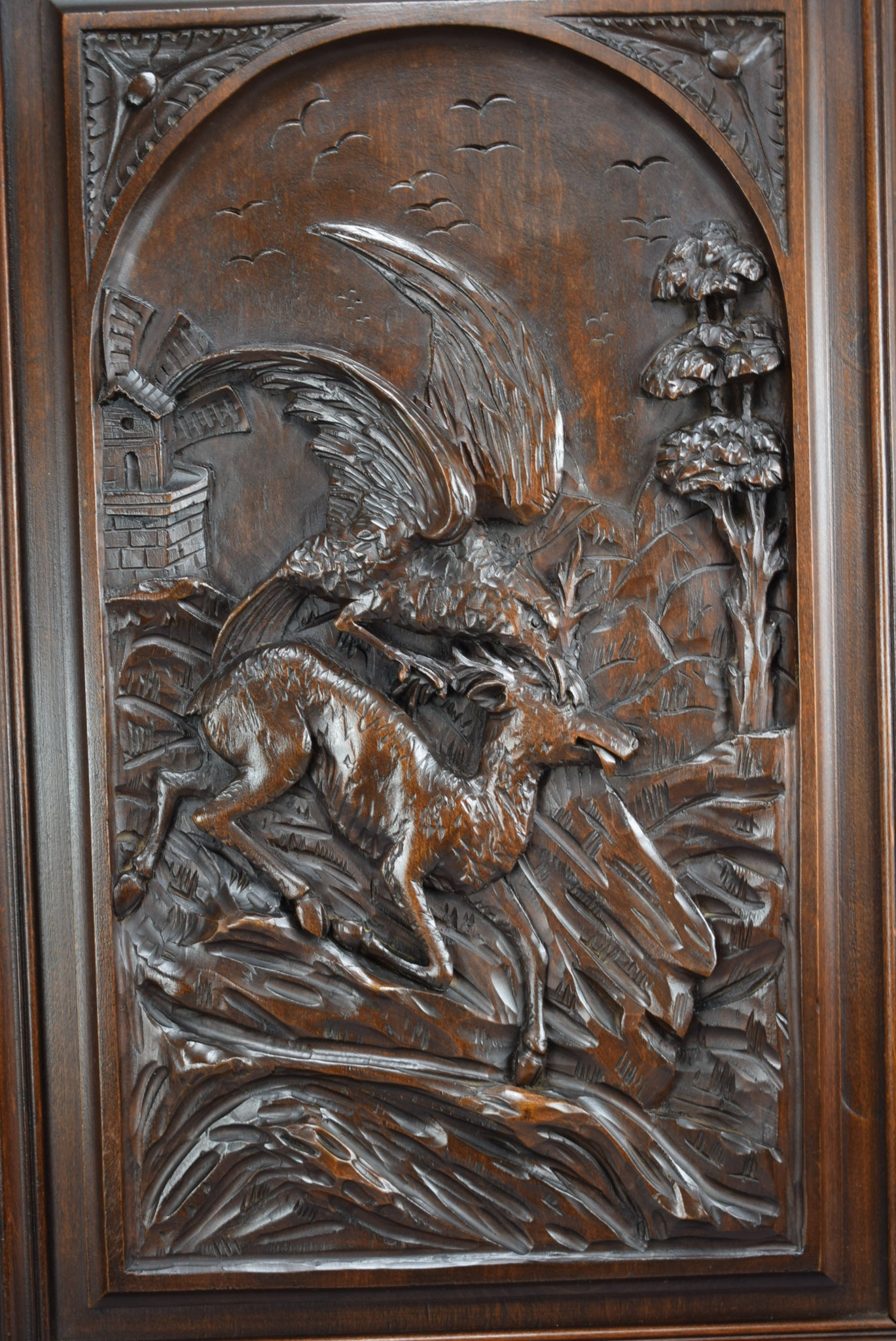 Eagle and Chamois Door - Charmantiques