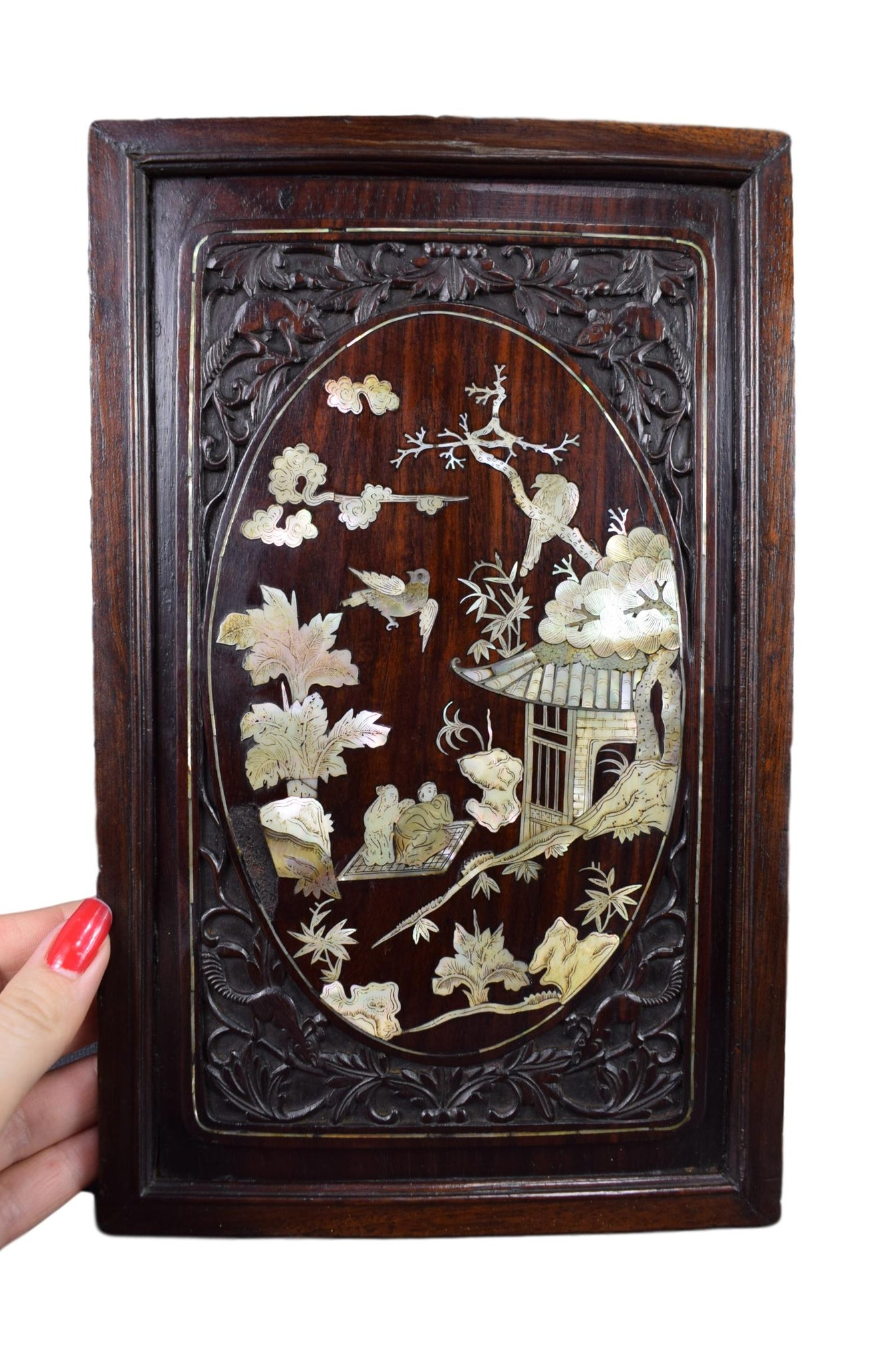 Vietnamese Carved Panel