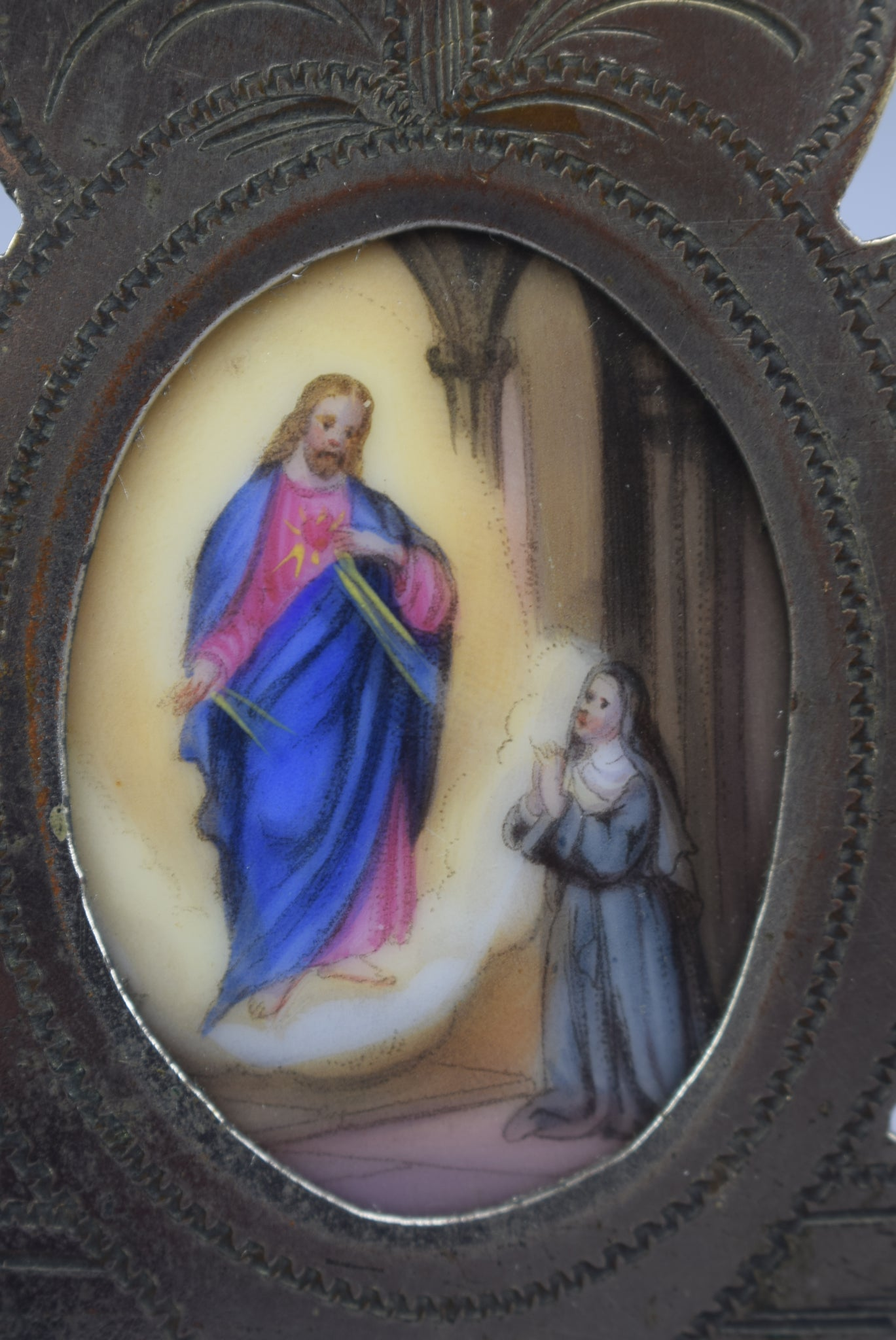 St Margaret Mary Alacoque Frame - Charmantiques