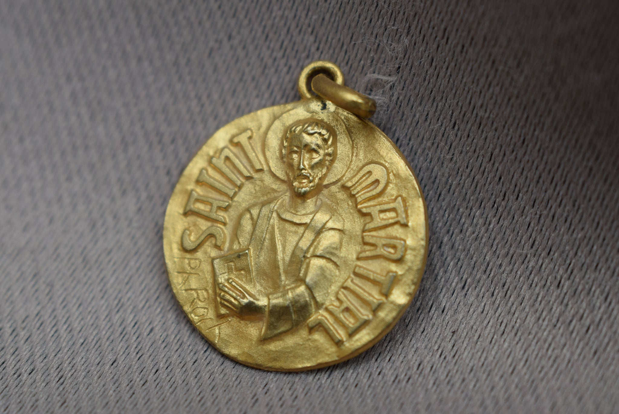 Saint Martial Medal by Roch - Charmantiques