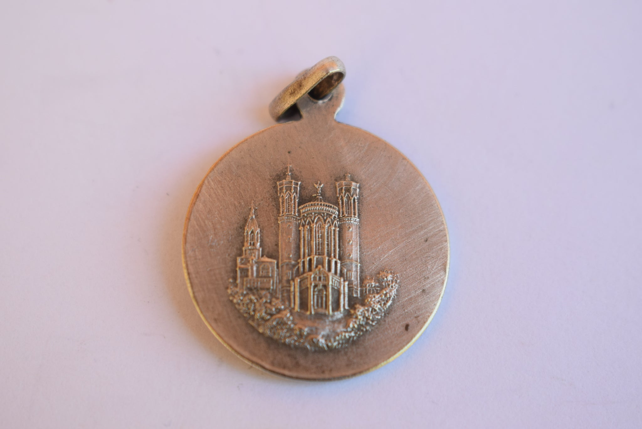 Our Lady of Fourviere Medal - Charmantiques