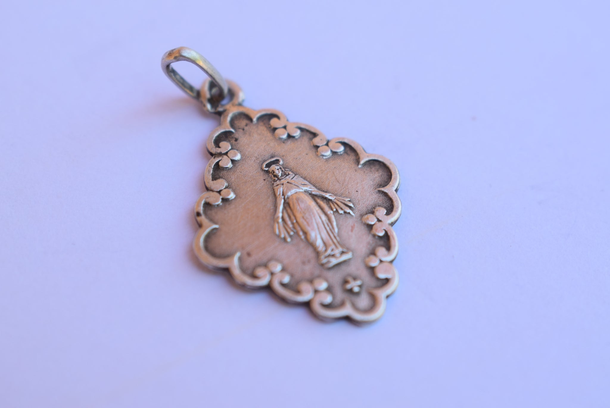 Sterling Silver Miraculous Medal - Charmantiques