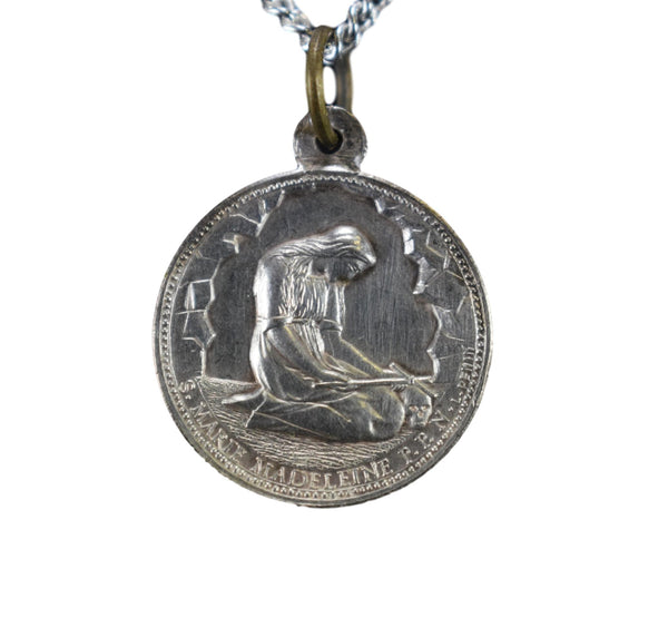 St Mary Magdalene Pendant and Angel - Charmantiques