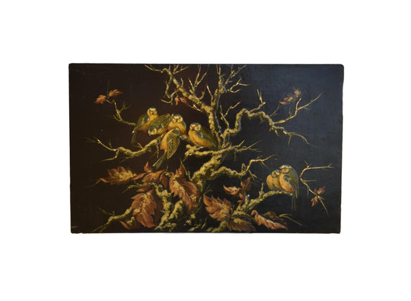Lacquered Paper Mache Panel - Charmantiques