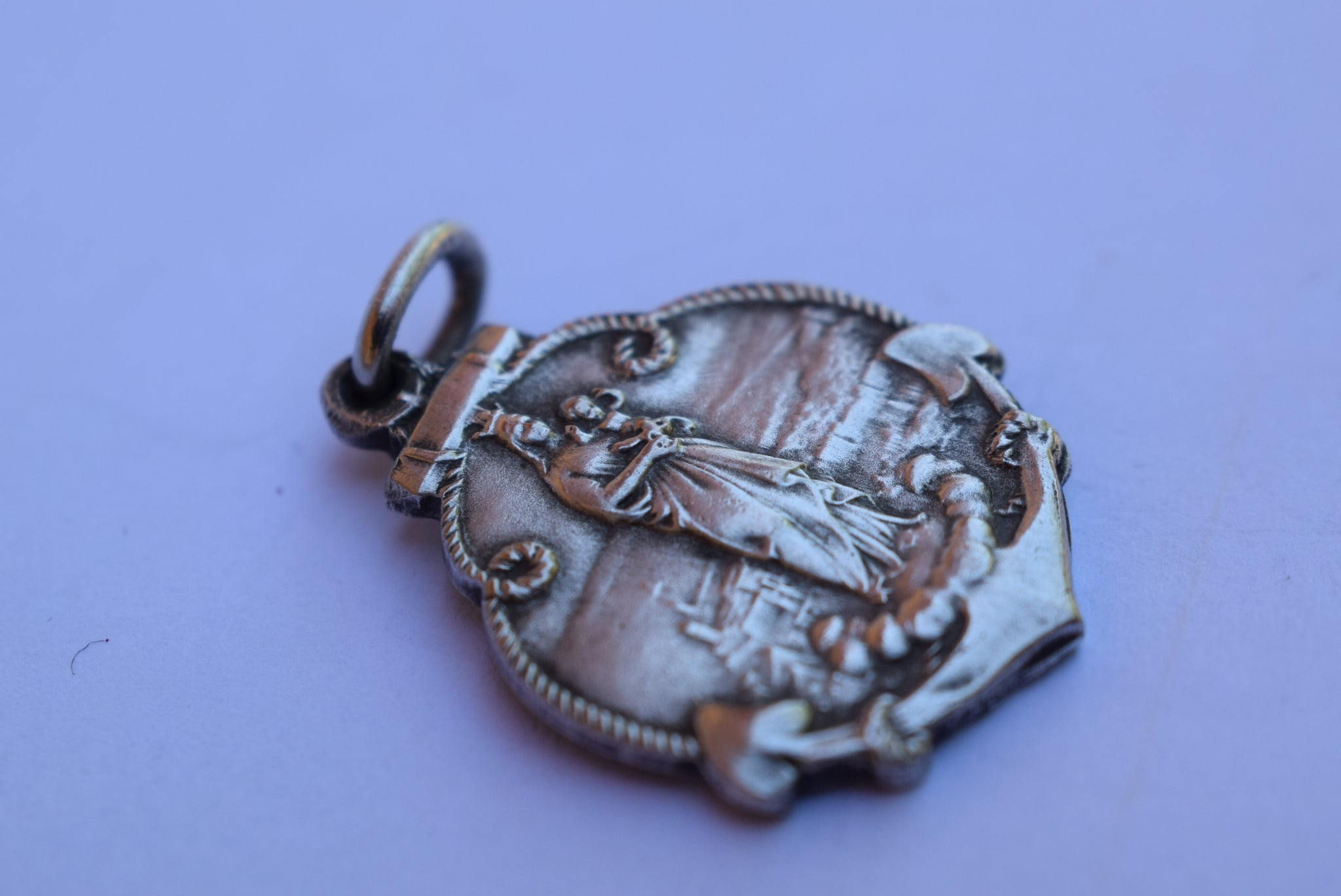 ND de La Garde Anchor Medal - Charmantiques