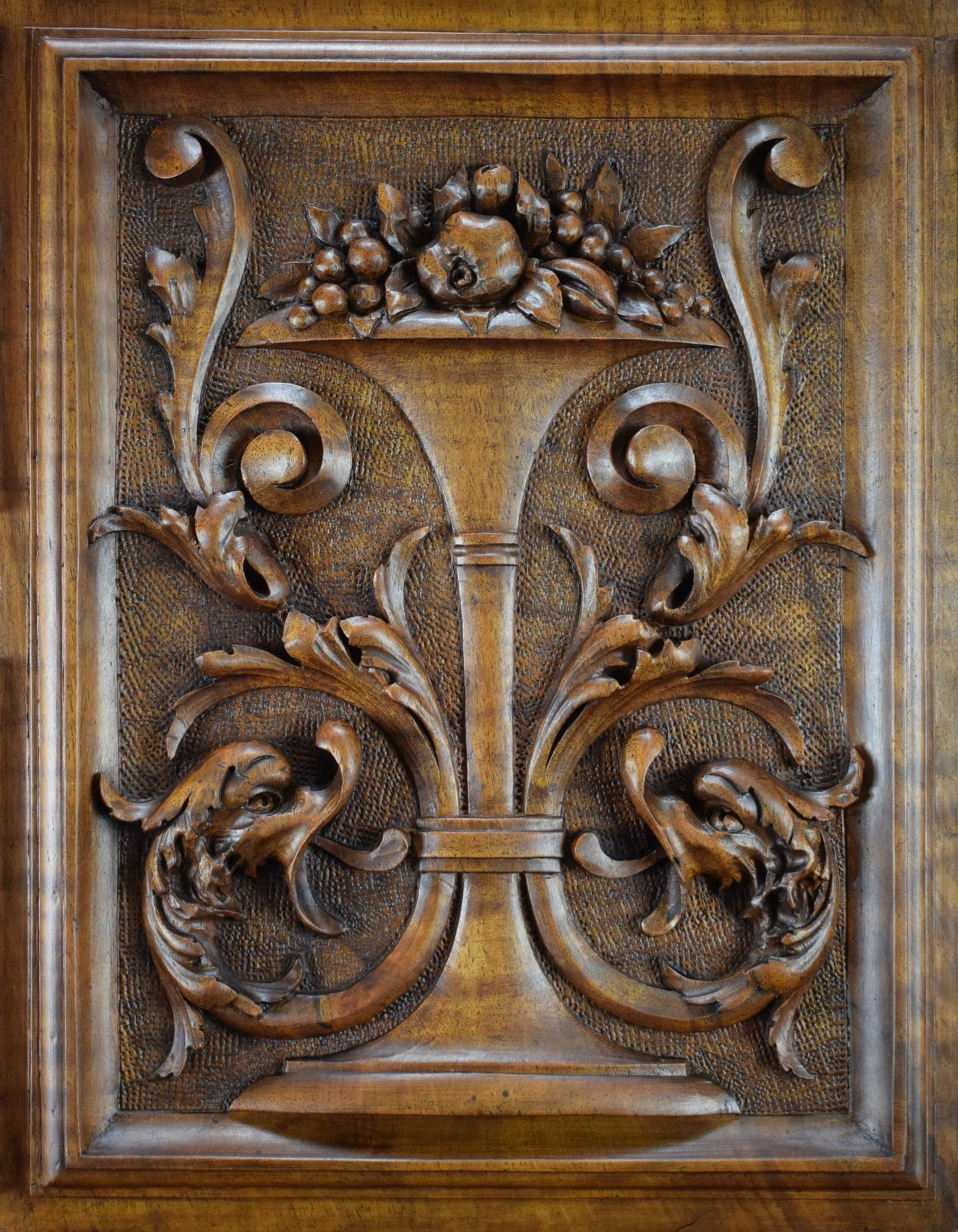 Griffin Door with Column - Charmantiques