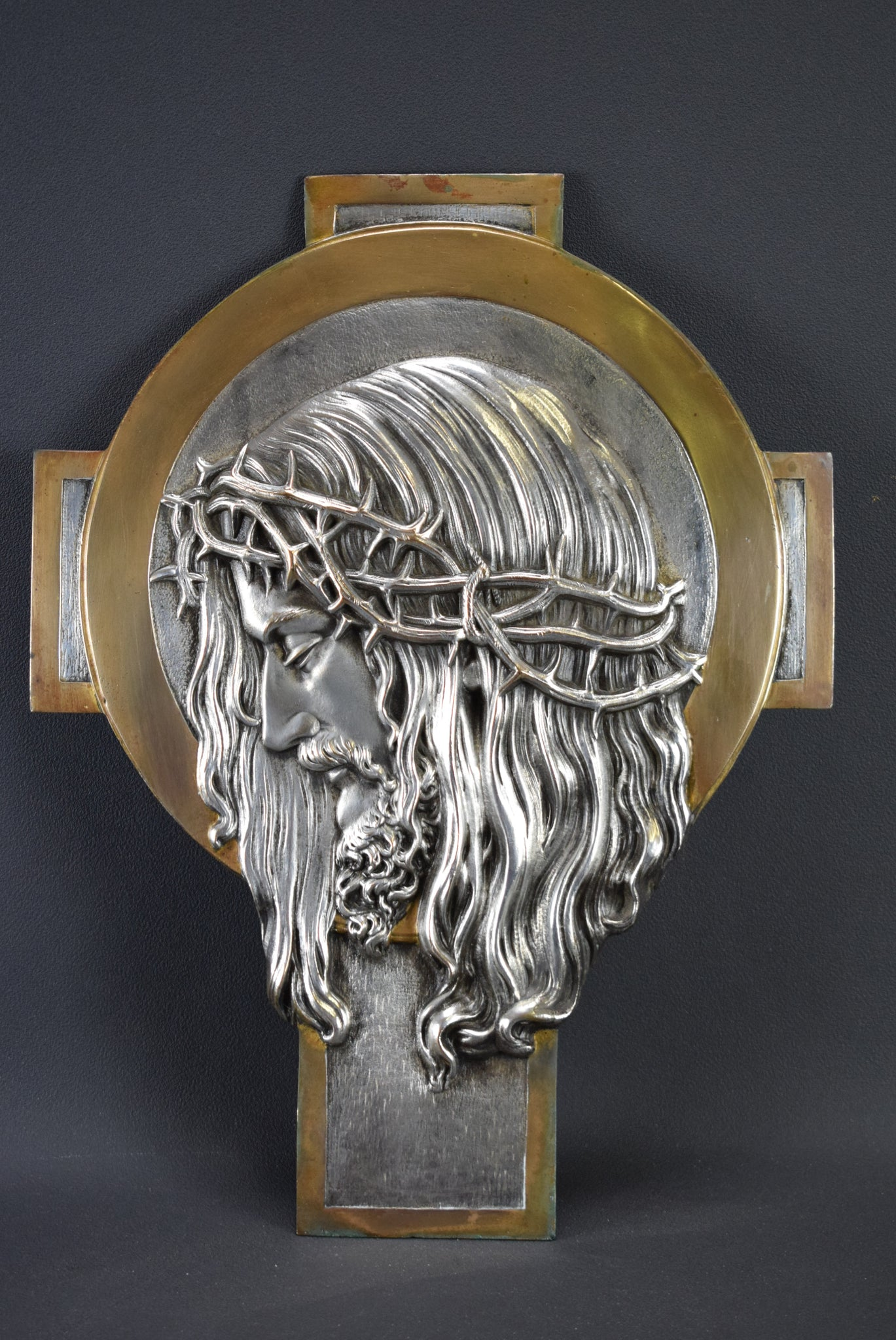 Jesus Portrait Wall Cross - Charmantiques
