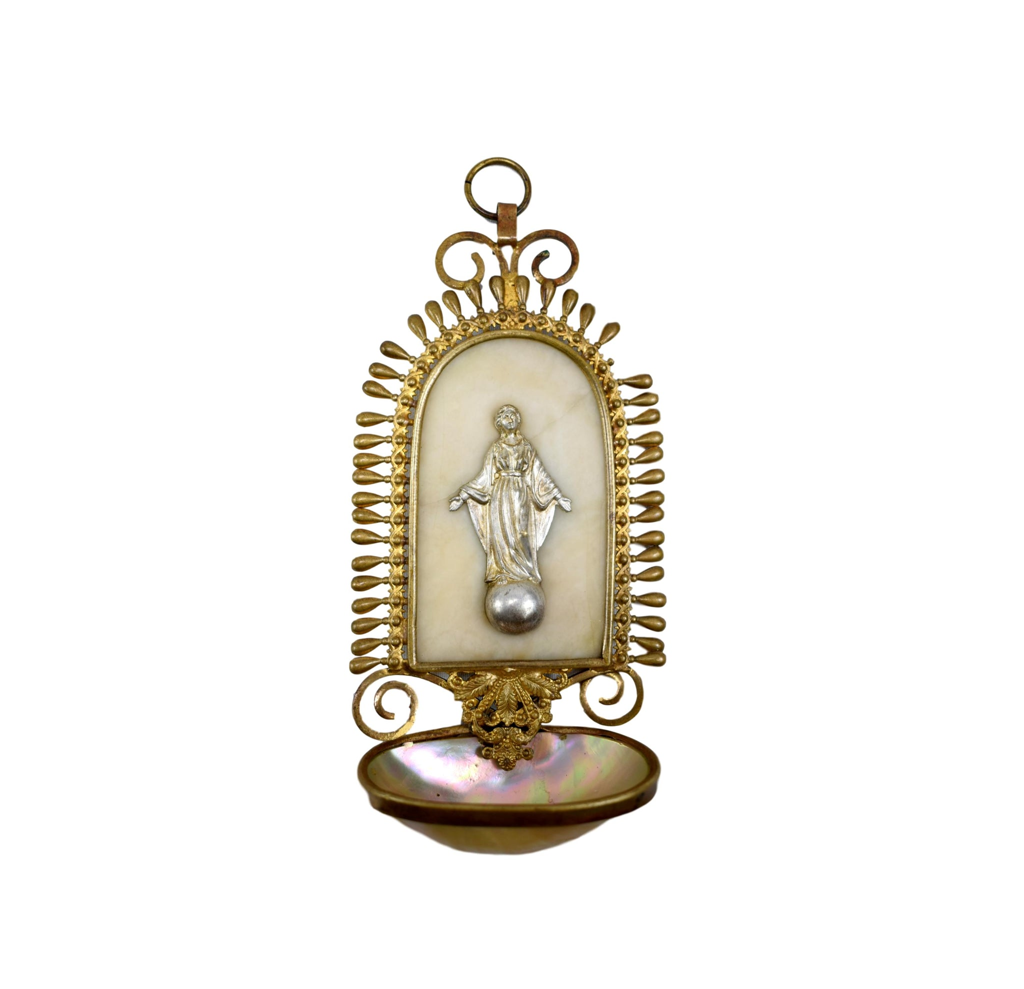 Shell Holy Water Font - Charmantiques