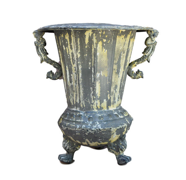 French Victorian Zinc Planter - Charmantiques