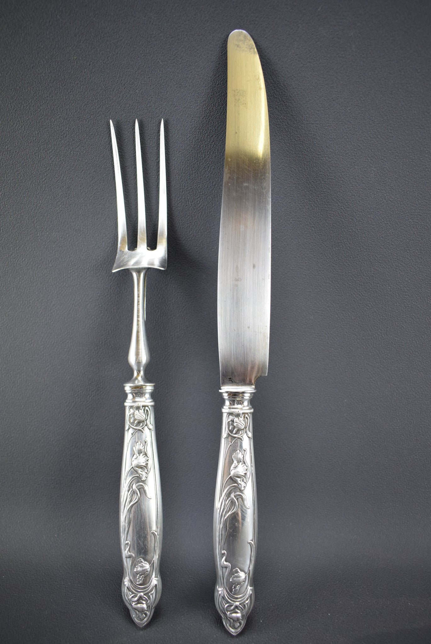 Art Nouveau Carving Set