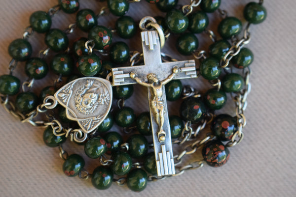 Bloodstone Rosary - Charmantiques