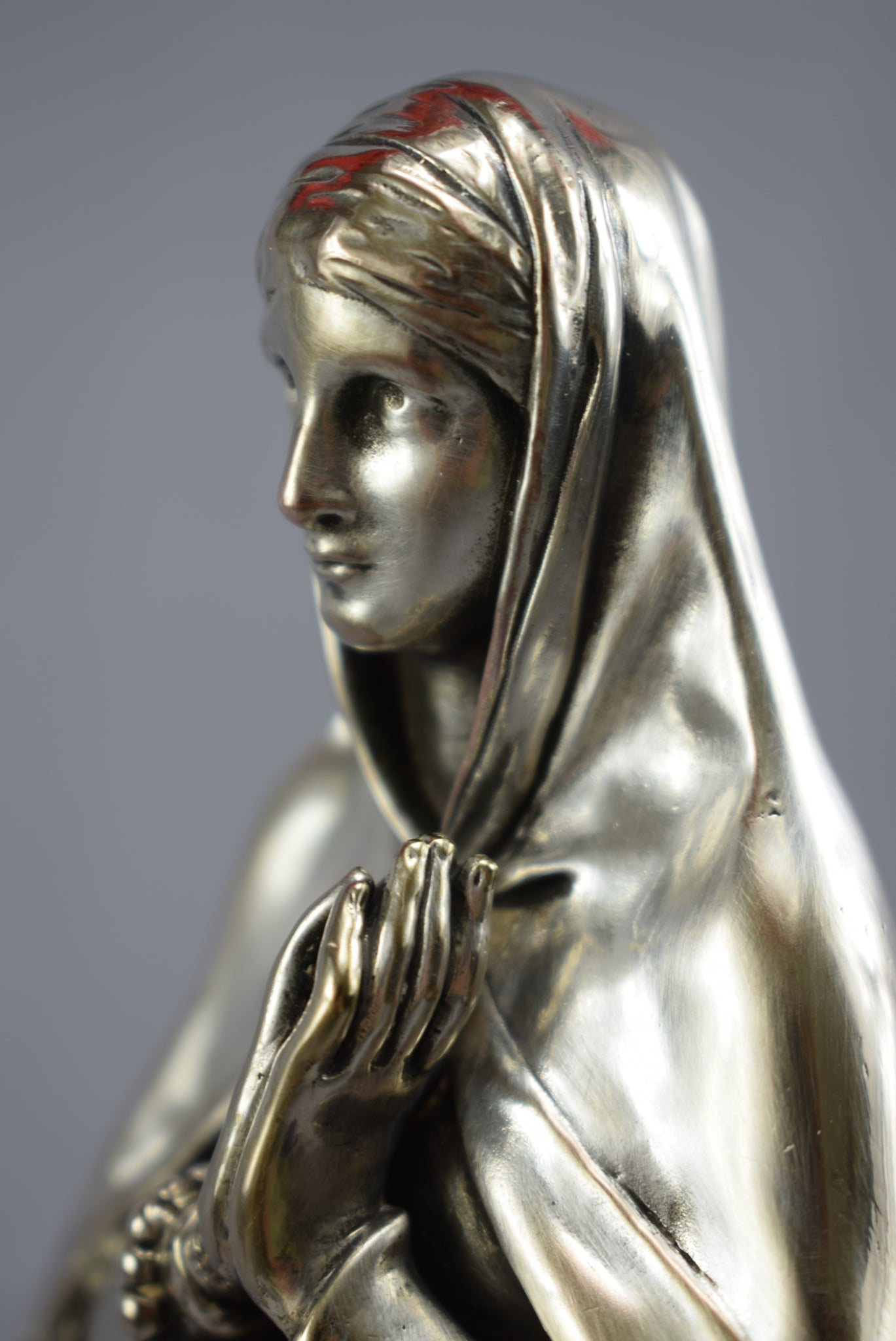 Christofle & Cie Virgin Statue - Charmantiques