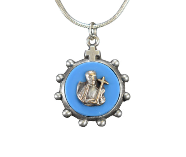 Saint Francis of Assisi Ten Rosary Medal Pendant Charm