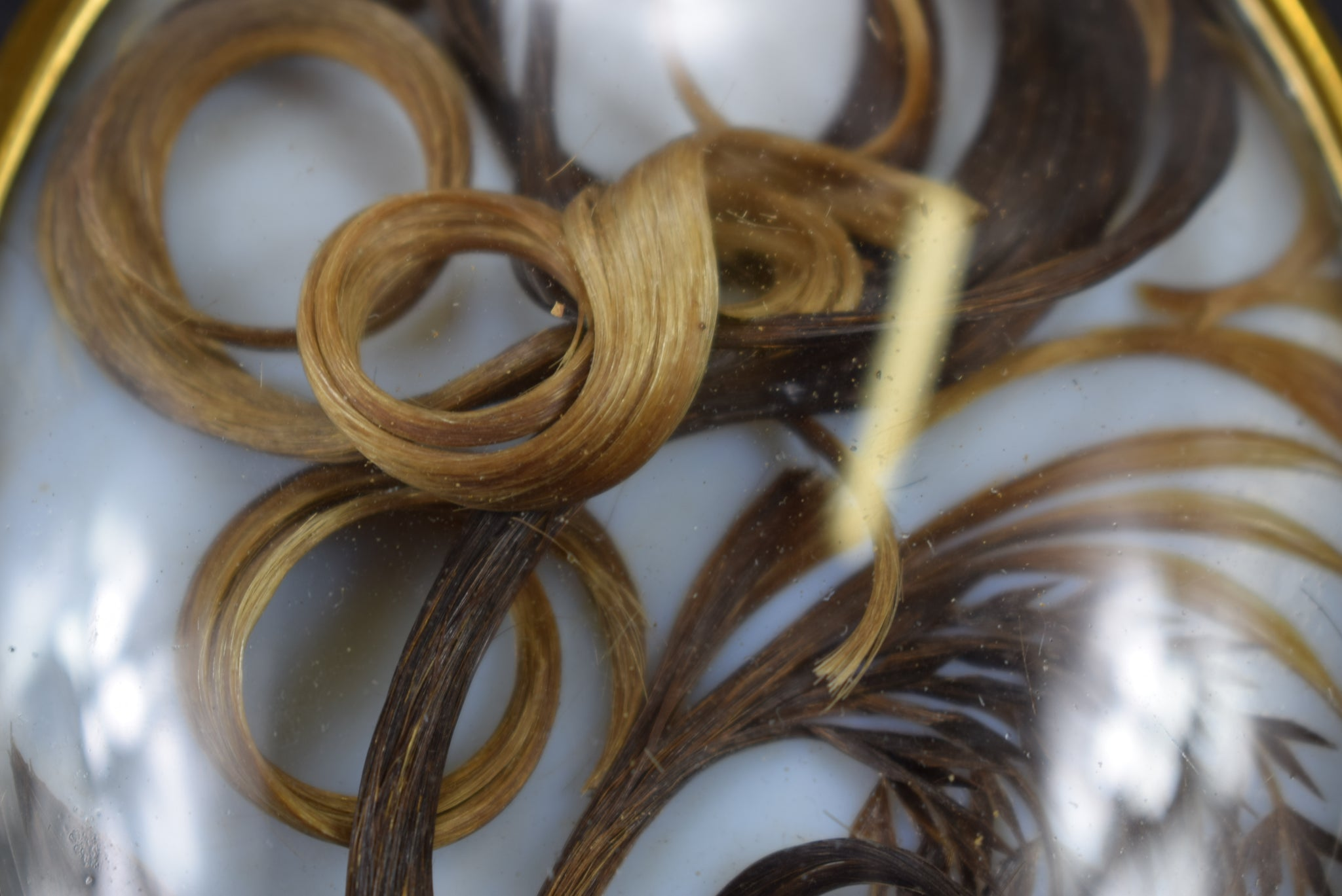 Strand of Hair Reliquary - Charmantiques