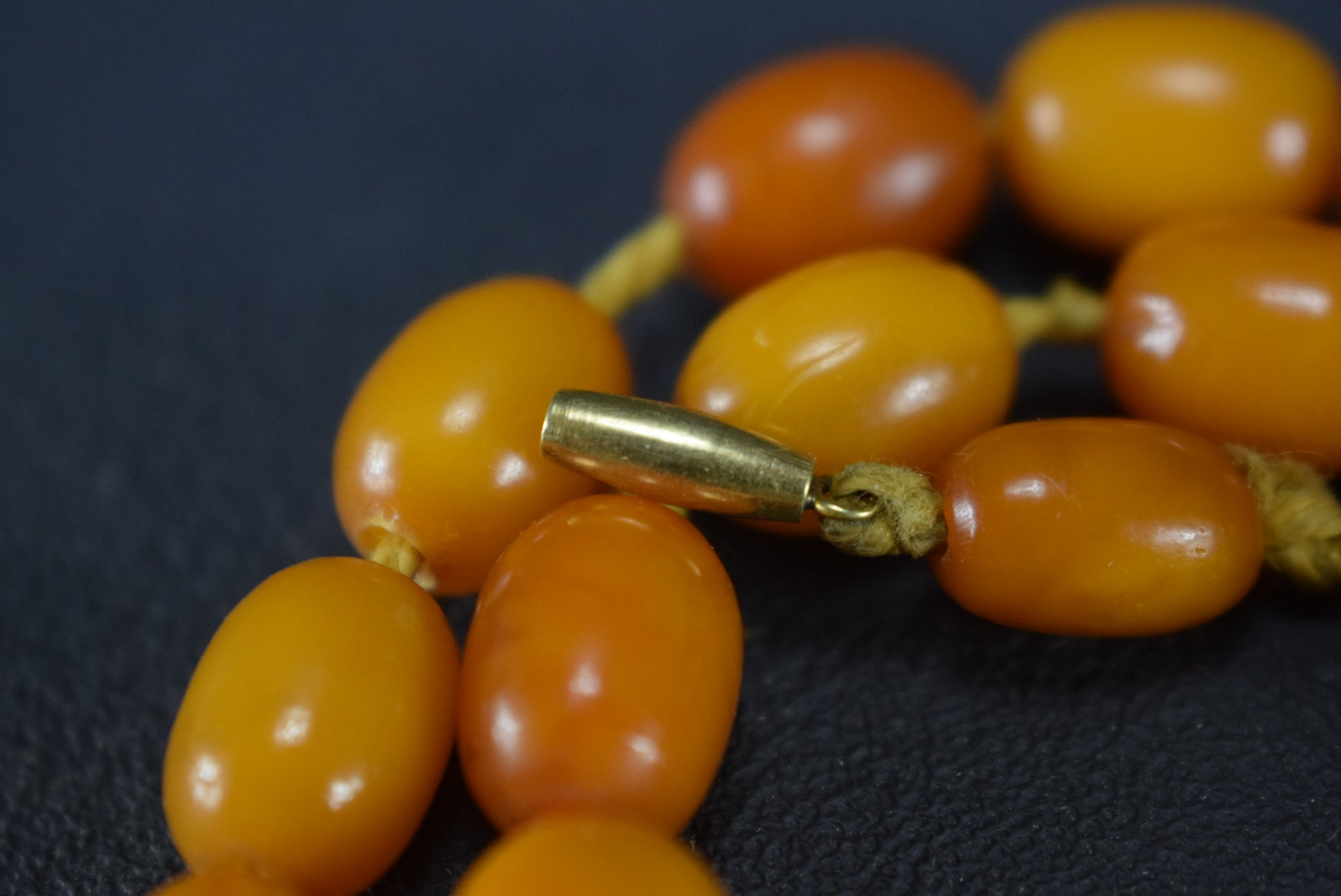 16g Baltic Amber Necklace - Charmantiques